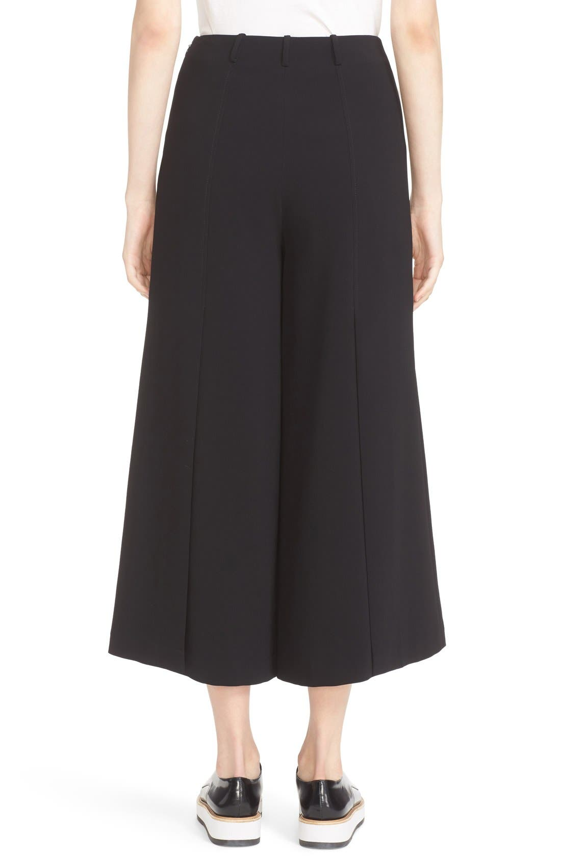 Willow Split Crop Pants,                             Alternate thumbnail 2, color,
