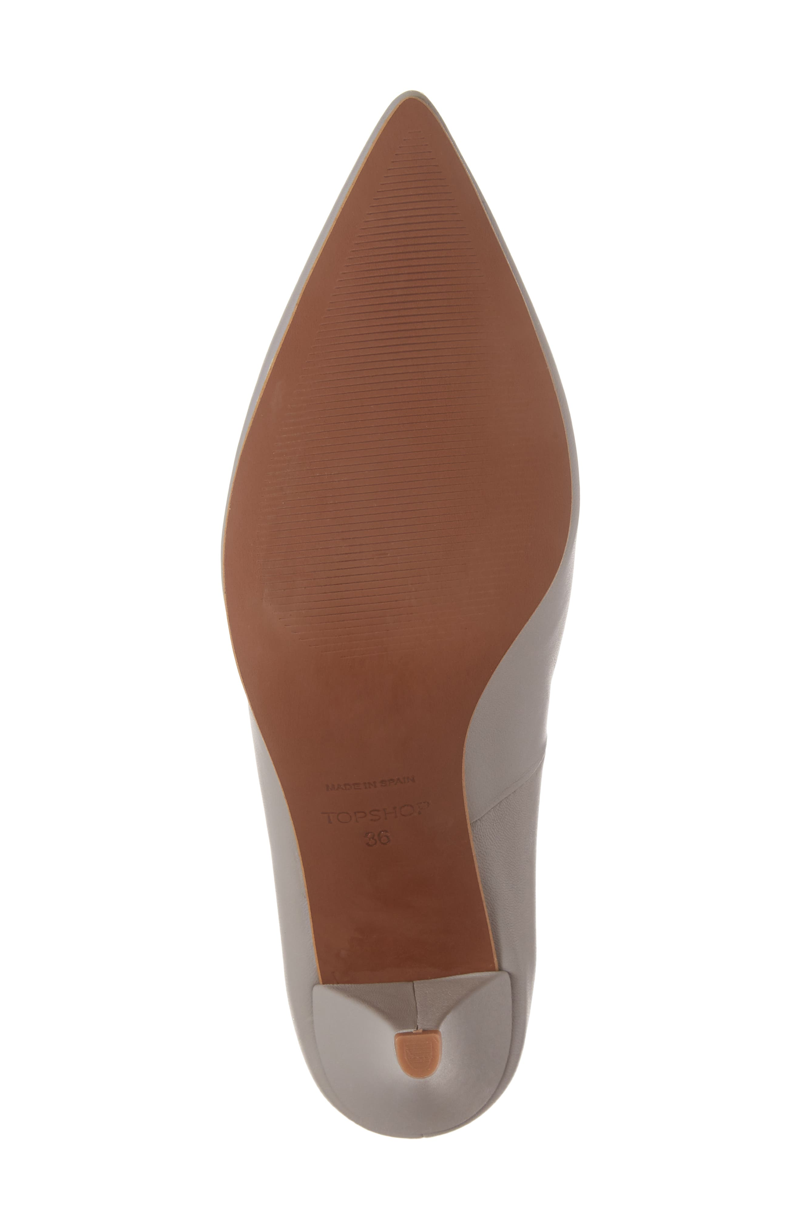 Journal Pointy Toe Pump,                             Alternate thumbnail 6, color,                             020