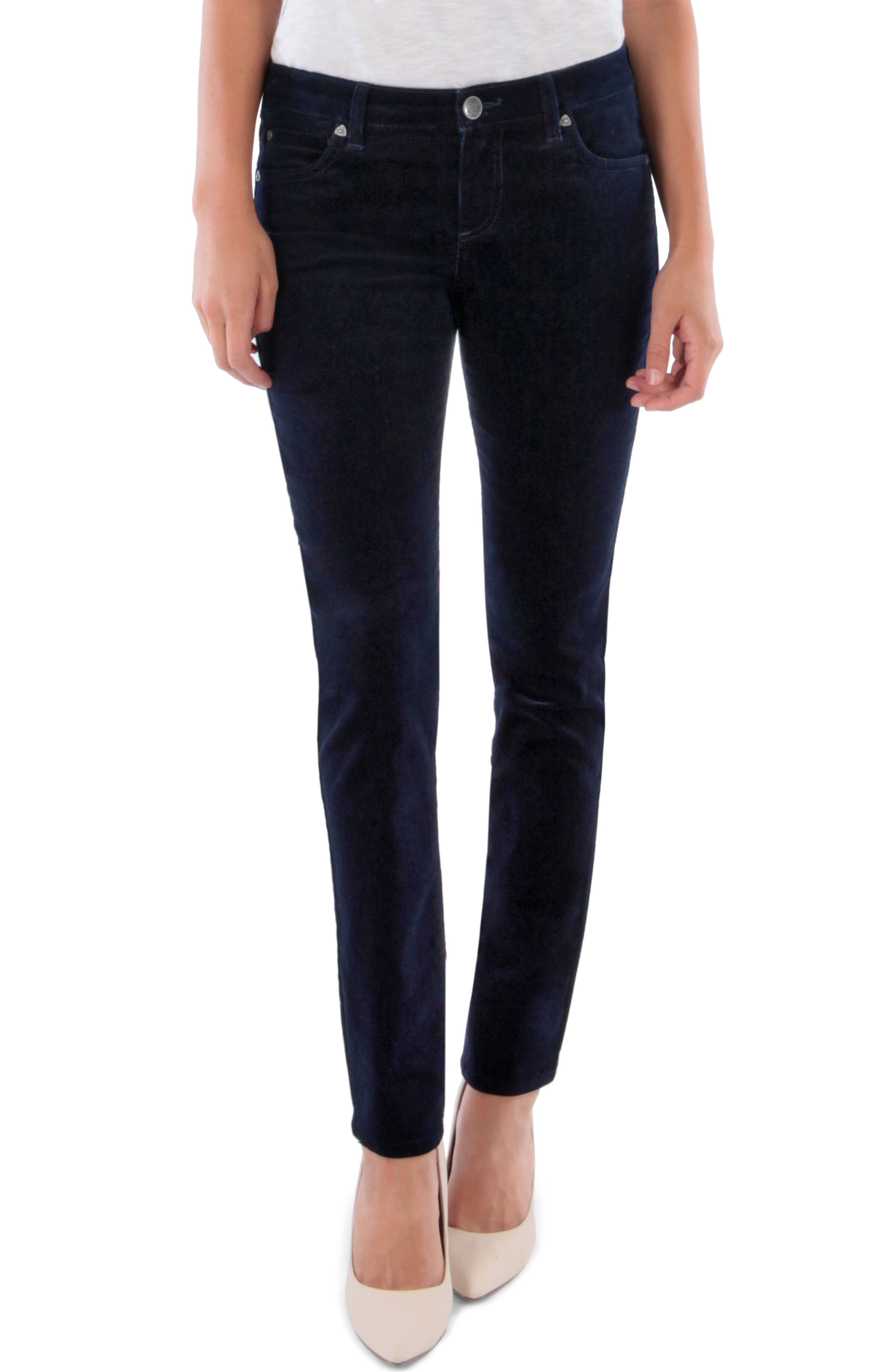 'Diana' Stretch Corduroy Skinny Pants,                             Main thumbnail 13, color,