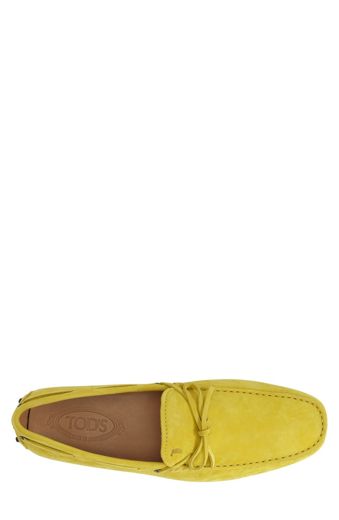 Gommini Tie Front Driving Moccasin,                             Alternate thumbnail 67, color,