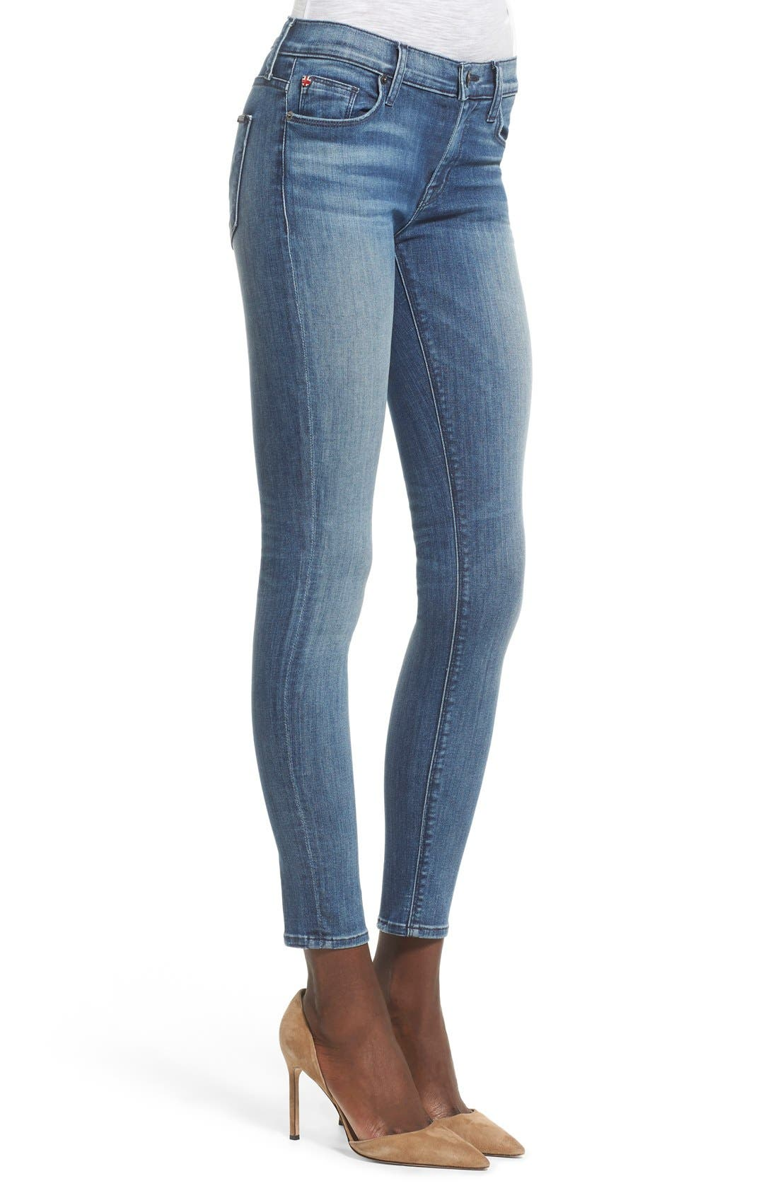 'Nico' Super Skinny Jeans,                             Alternate thumbnail 17, color,