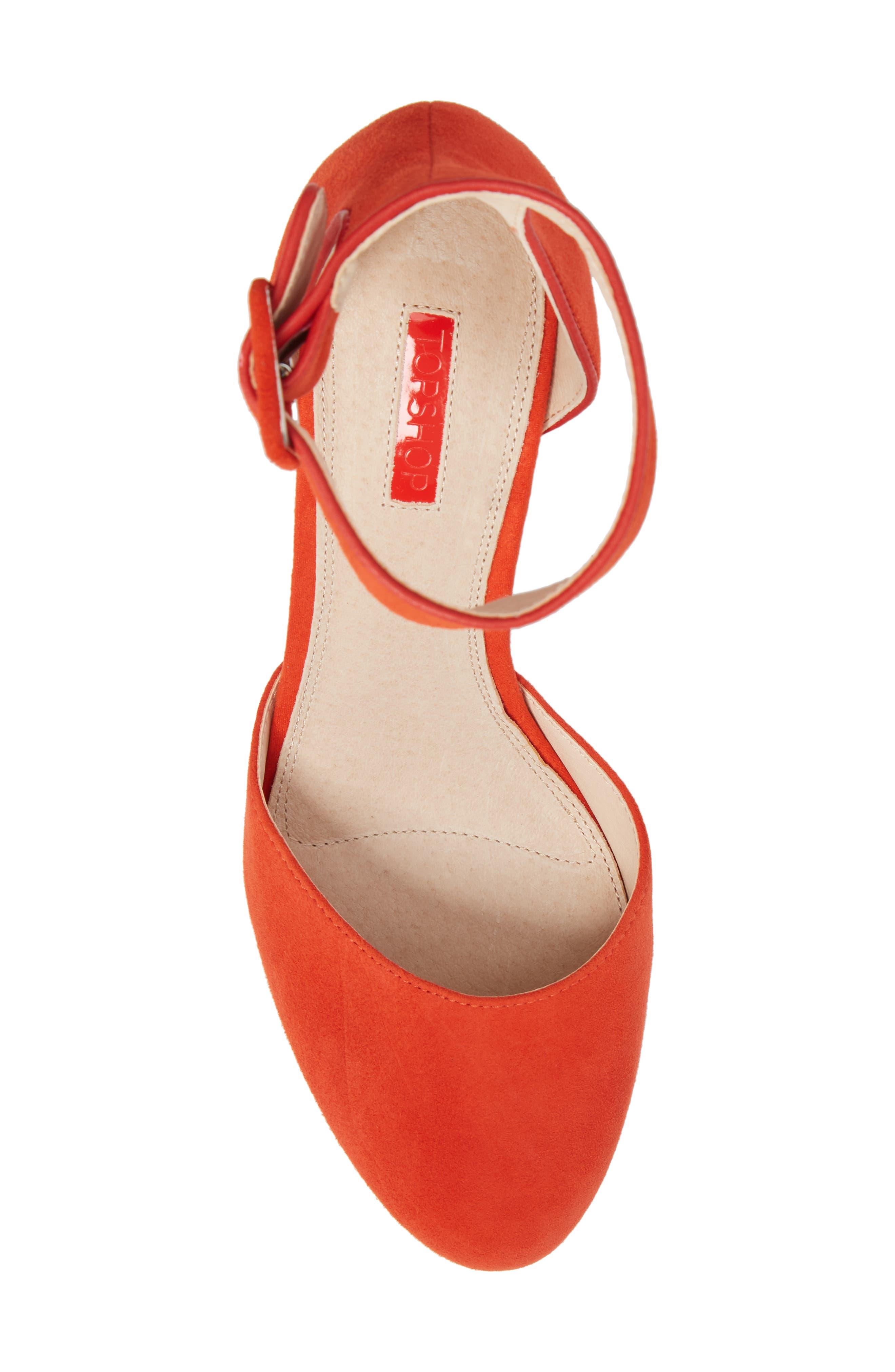 Ankle Strap Platform Sandal,                             Alternate thumbnail 10, color,