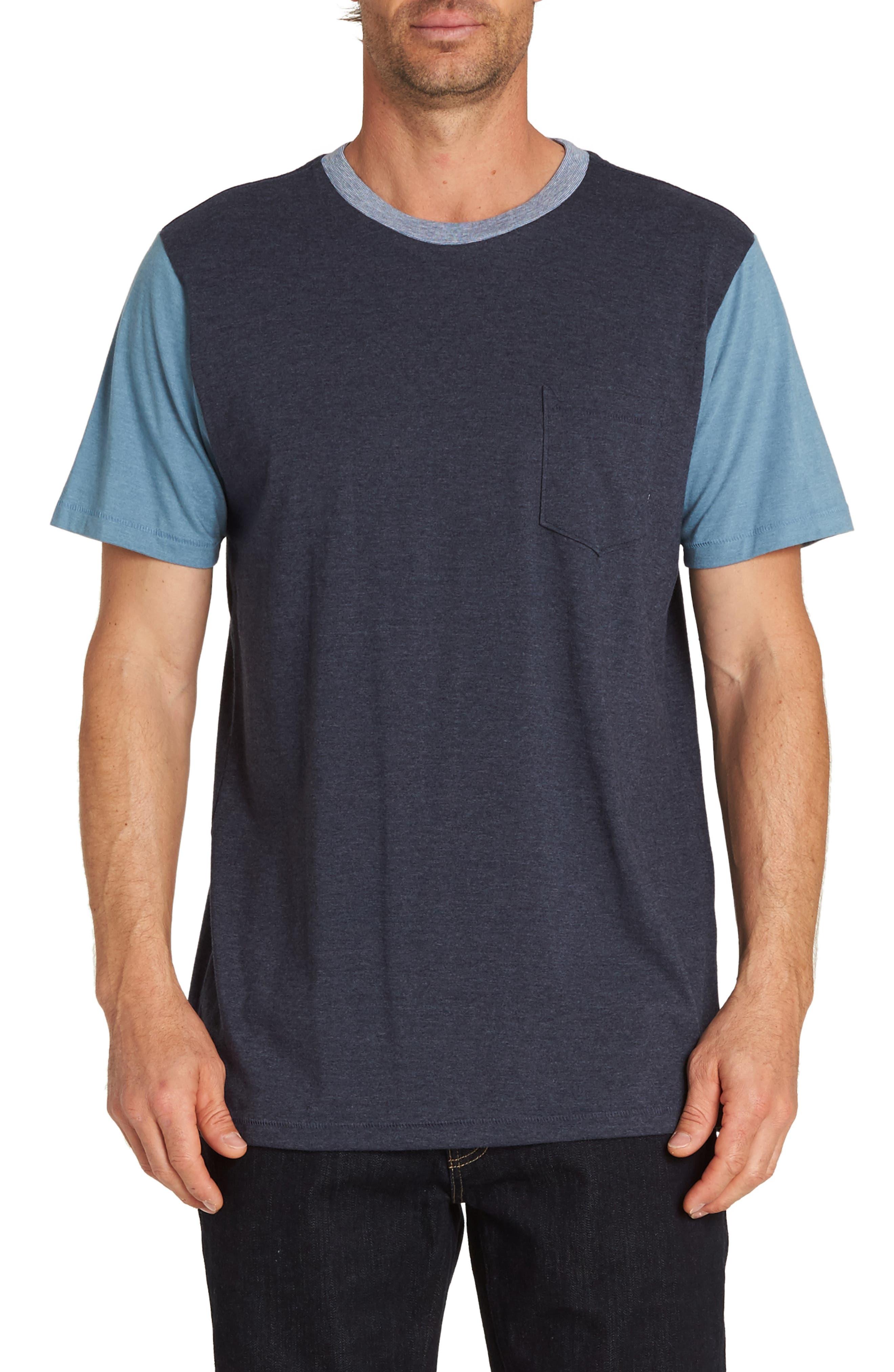 Zenith T-Shirt,                         Main,                         color, NAVY