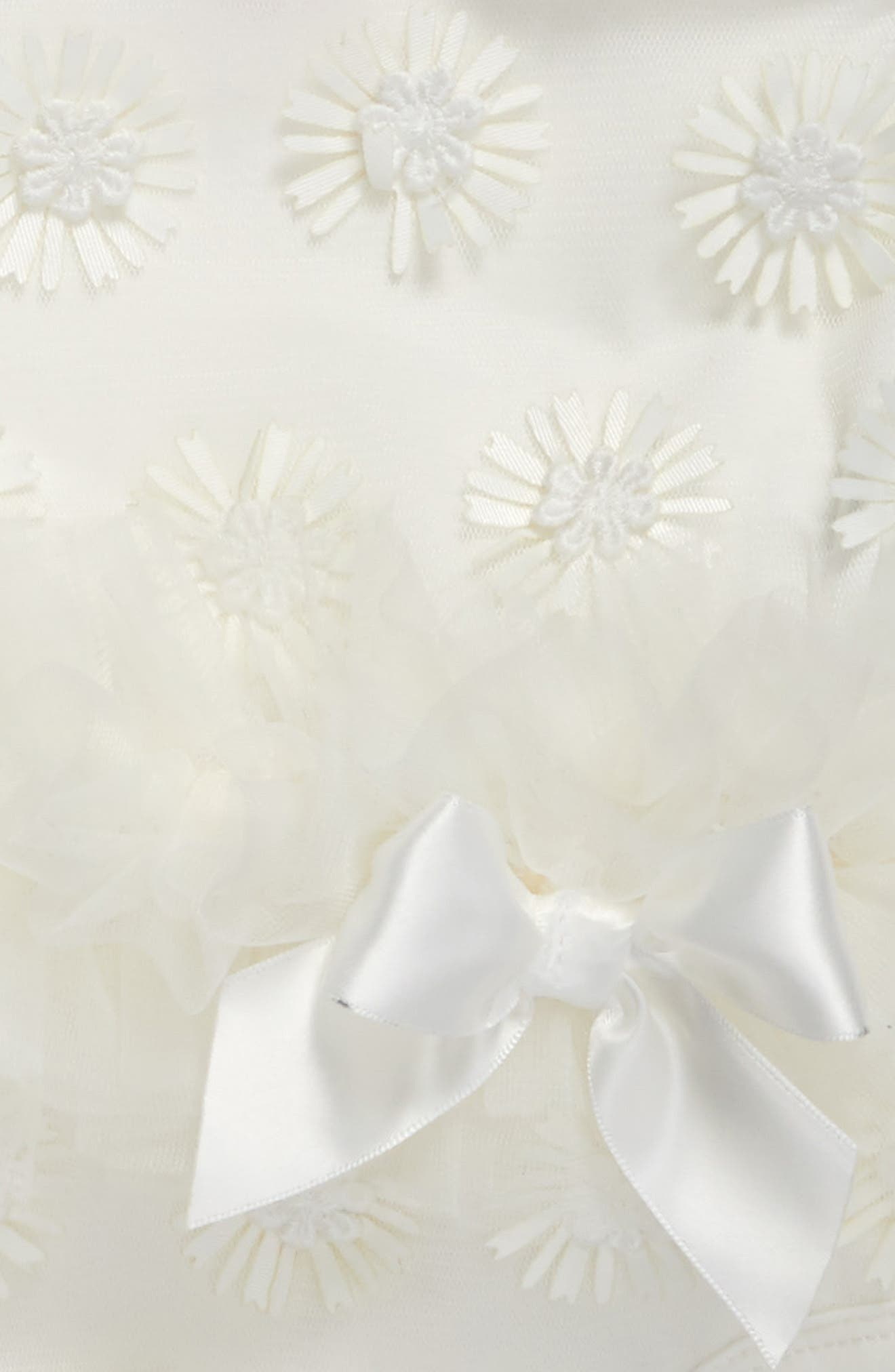 Daisy Tutu Bodysuit,                             Alternate thumbnail 2, color,                             WHITE