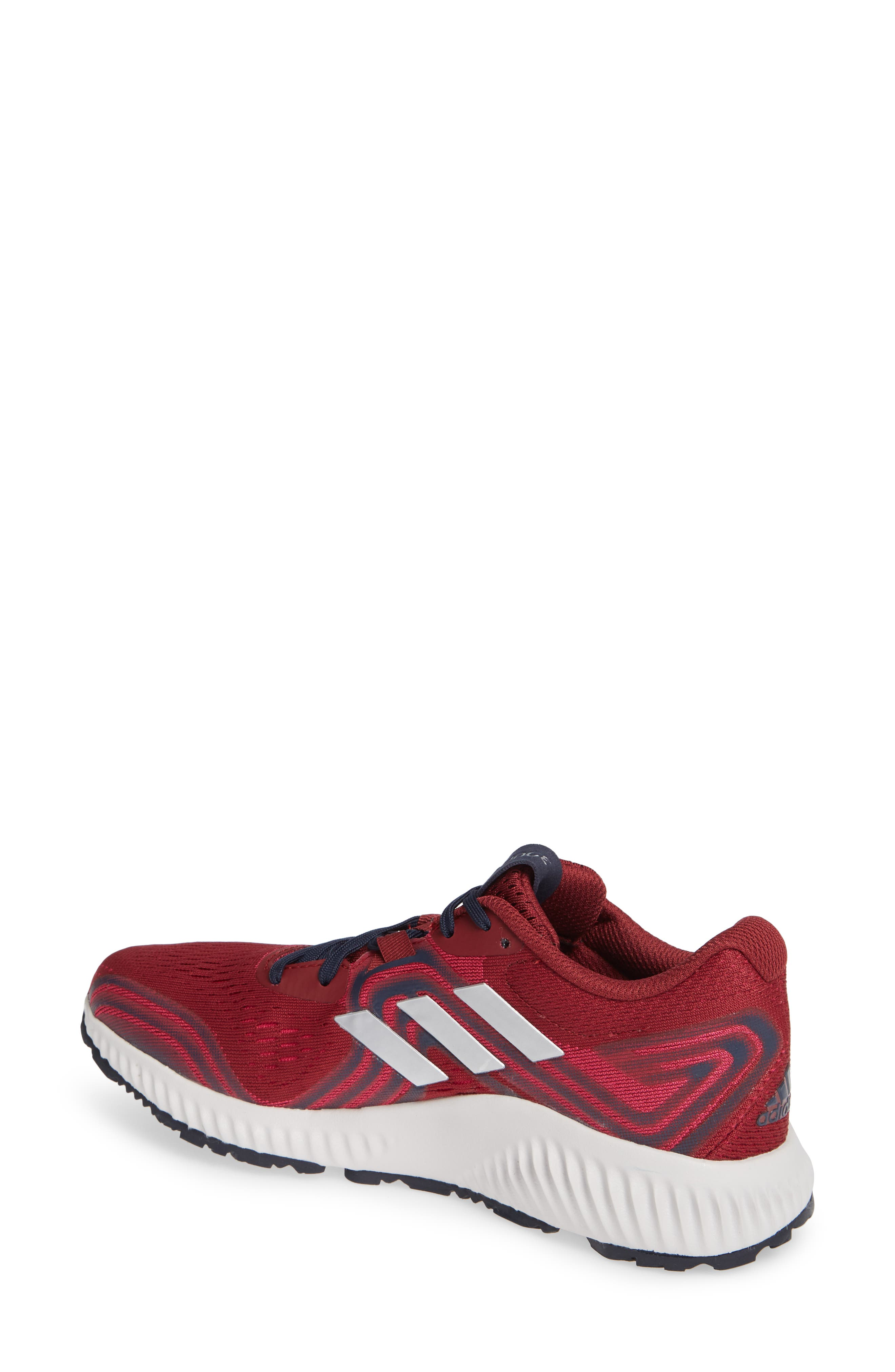 AeroBounce 2 Running Shoe,                             Alternate thumbnail 2, color,                             NOBLE MAROON/ SILVER/ MAGENTA
