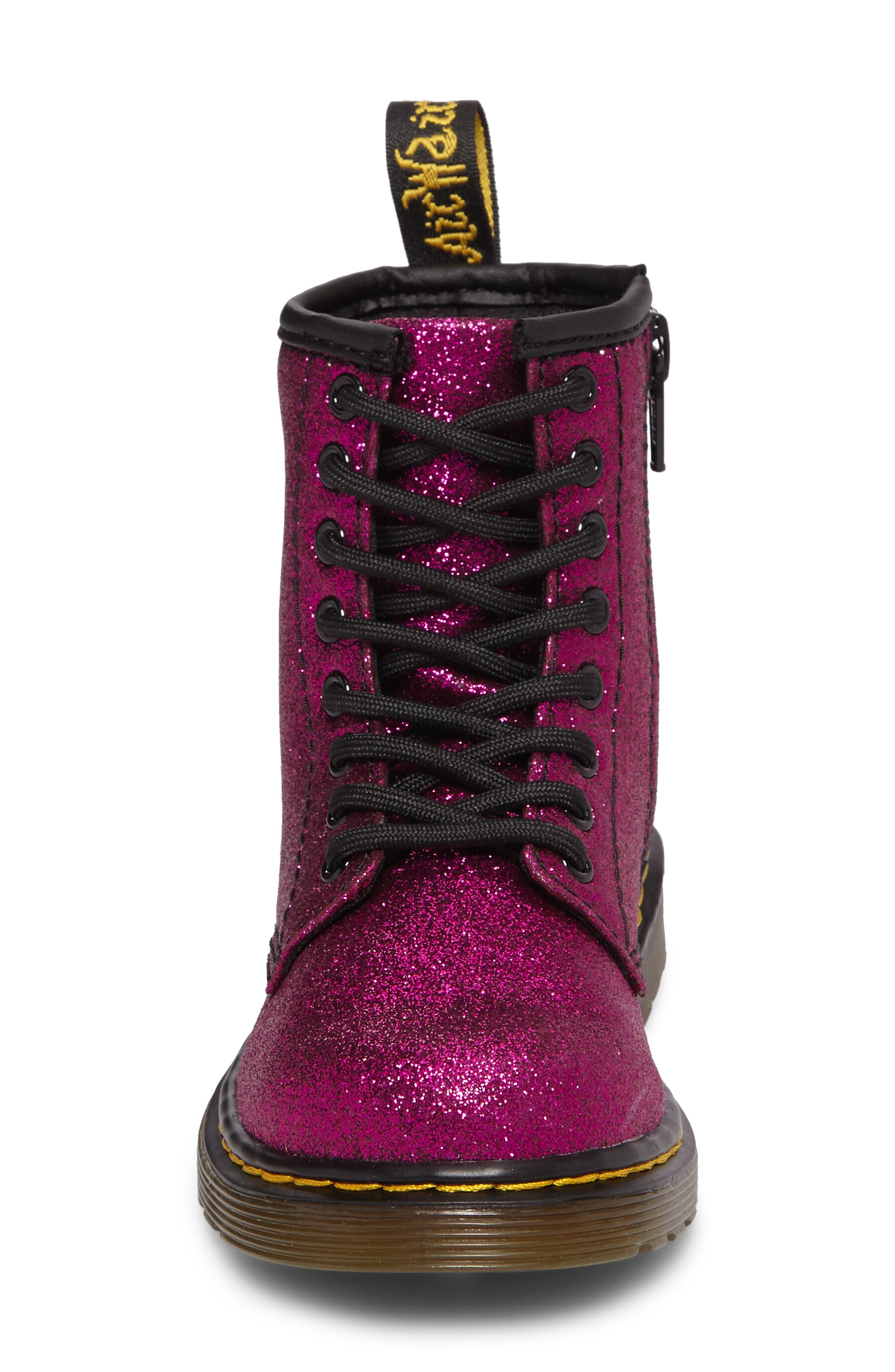 Delaney Glitter Boot,                             Alternate thumbnail 14, color,