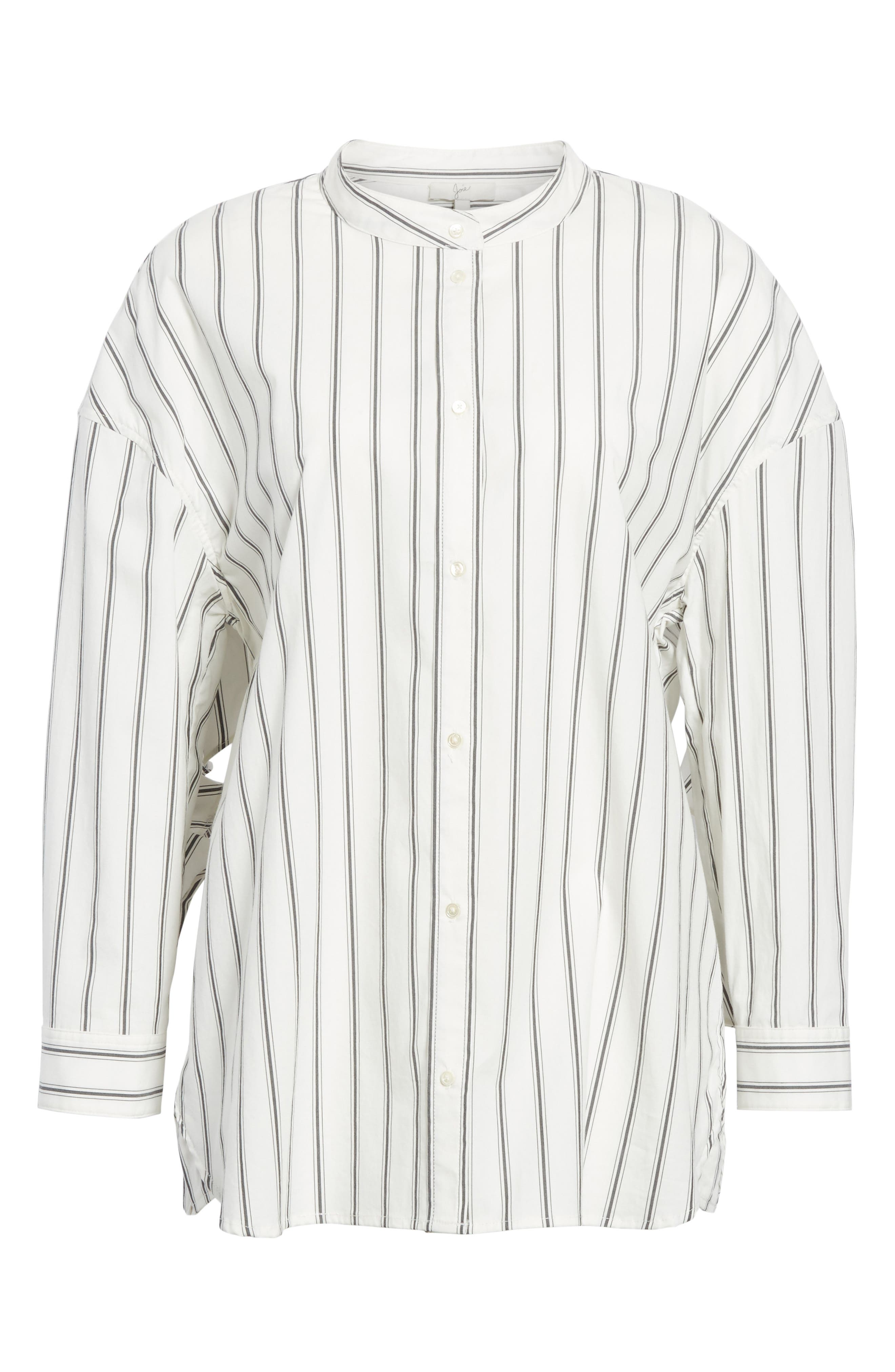 Poni Stripe Shirt,                             Alternate thumbnail 6, color,                             120