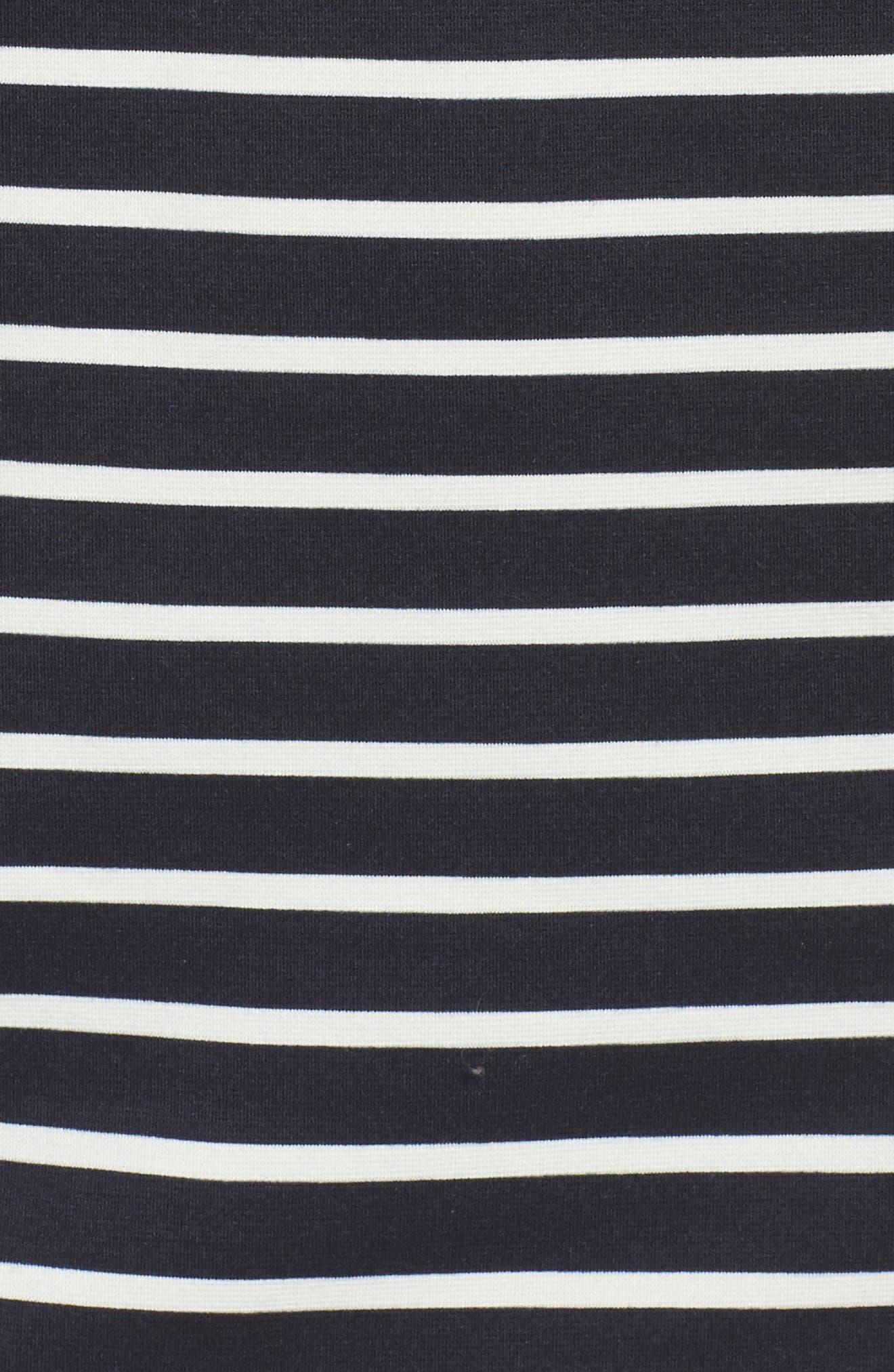 Puff Sleeve Shift Dress,                             Alternate thumbnail 5, color,                             407