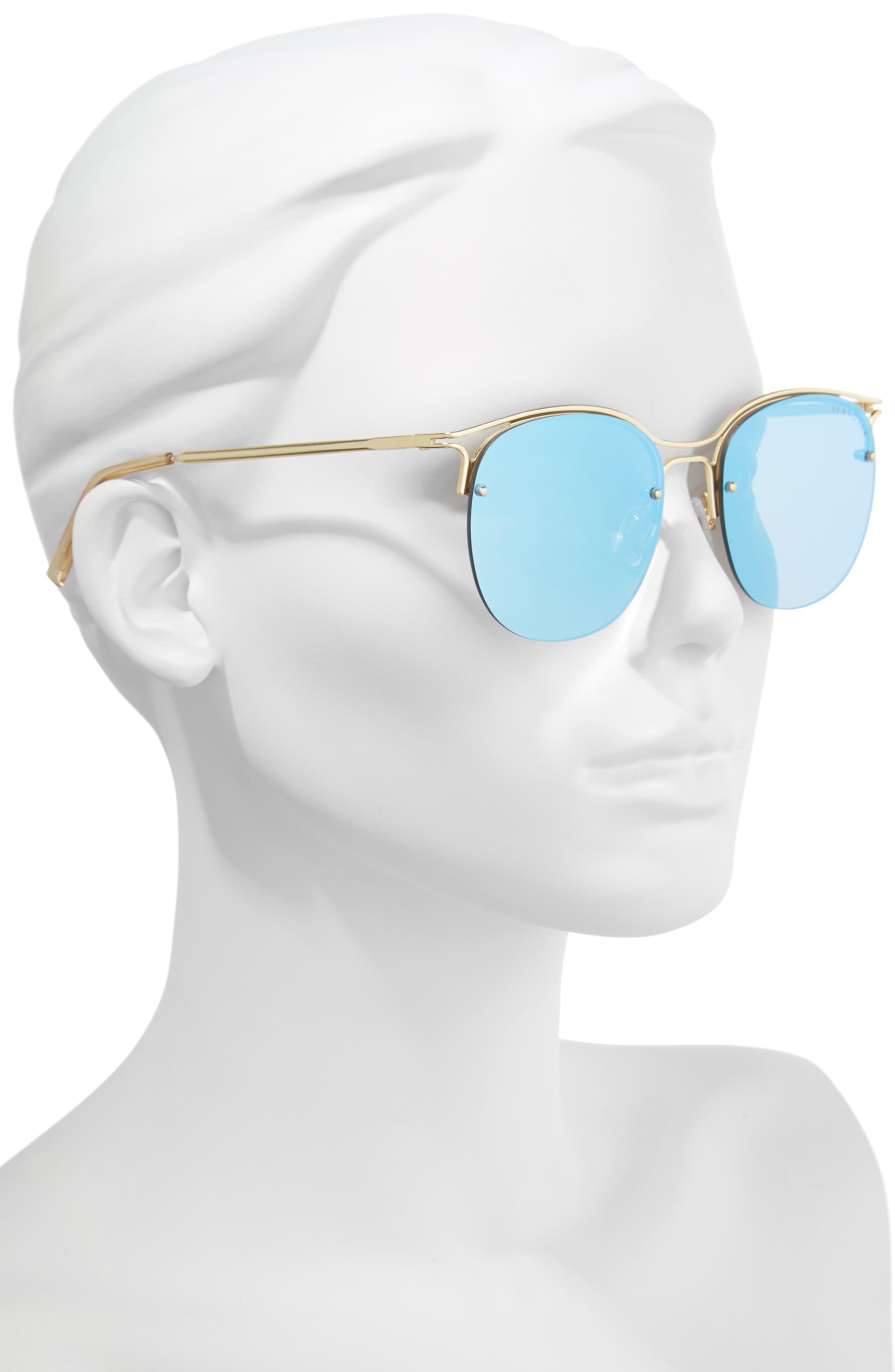 Freshwater 55m Metal Sunglasses,                             Alternate thumbnail 4, color,