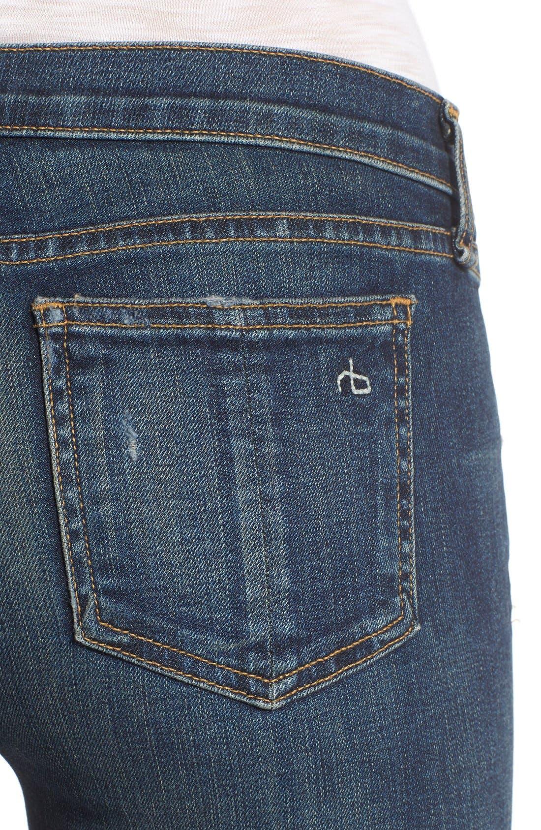 RAG & BONE,                             JEAN Bootcut Jeans,                             Alternate thumbnail 4, color,                             420