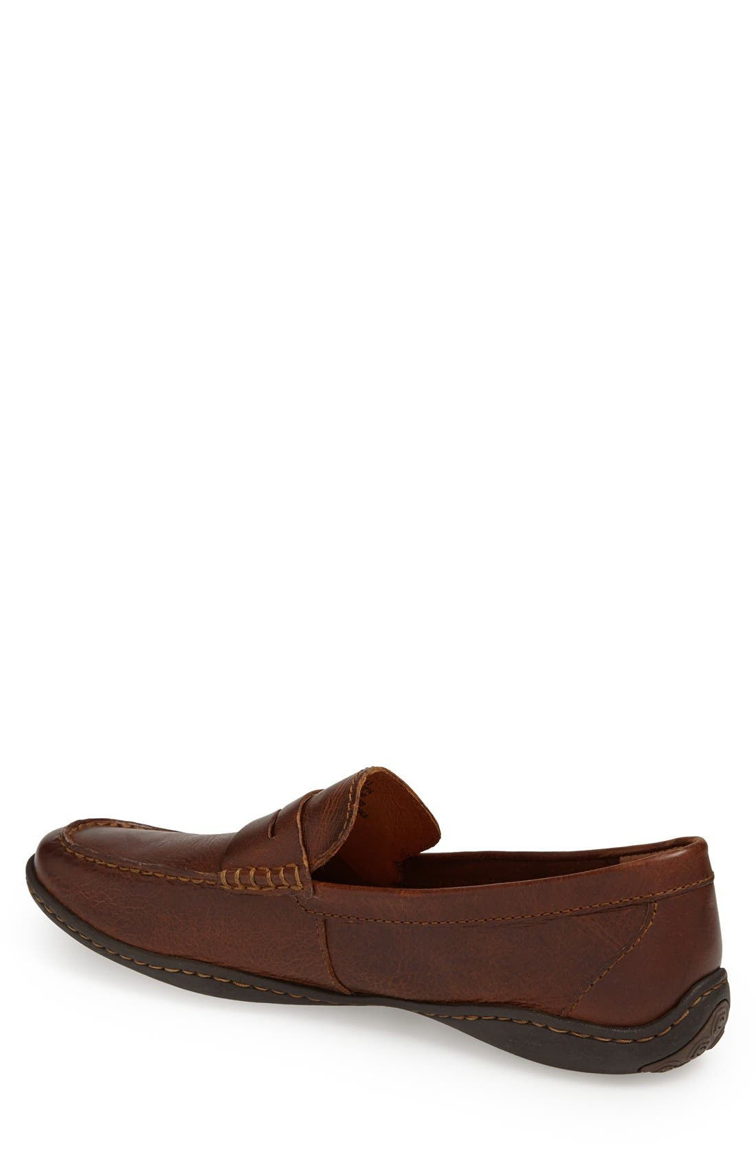 'Simon' Penny Loafer,                             Alternate thumbnail 3, color,                             CYMBAL