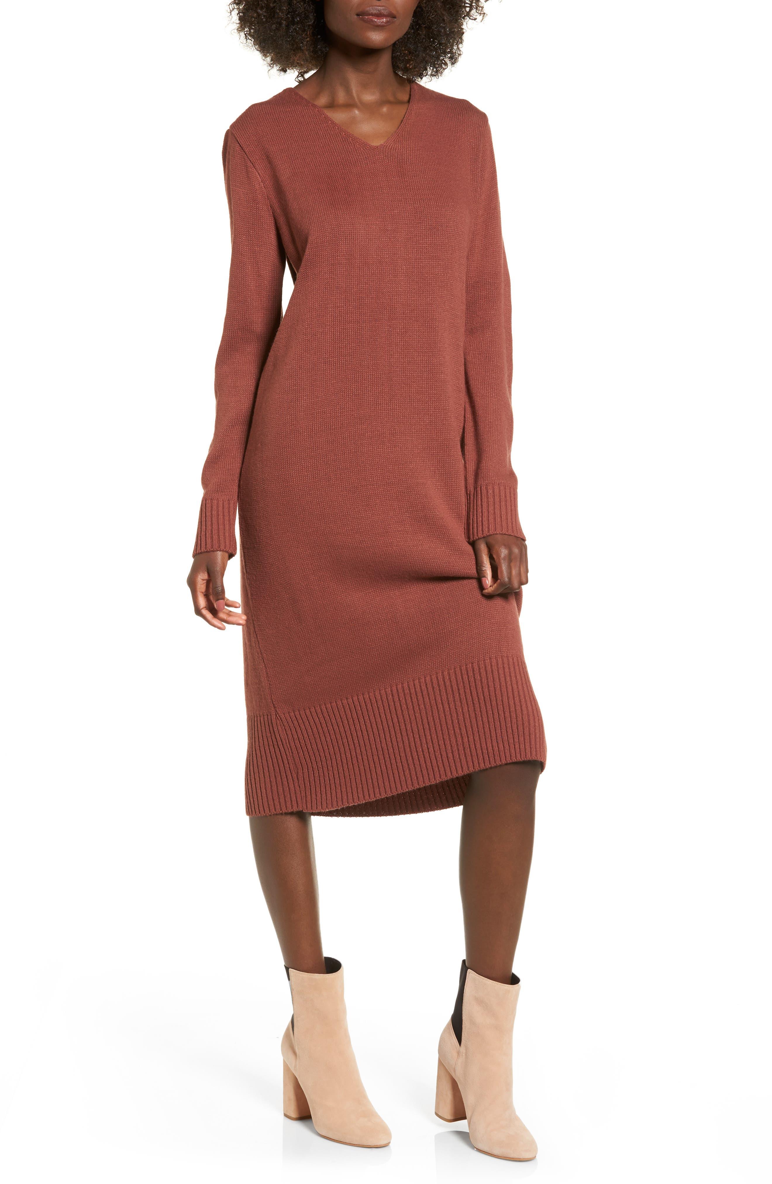 Sweater Dress,                             Main thumbnail 3, color,