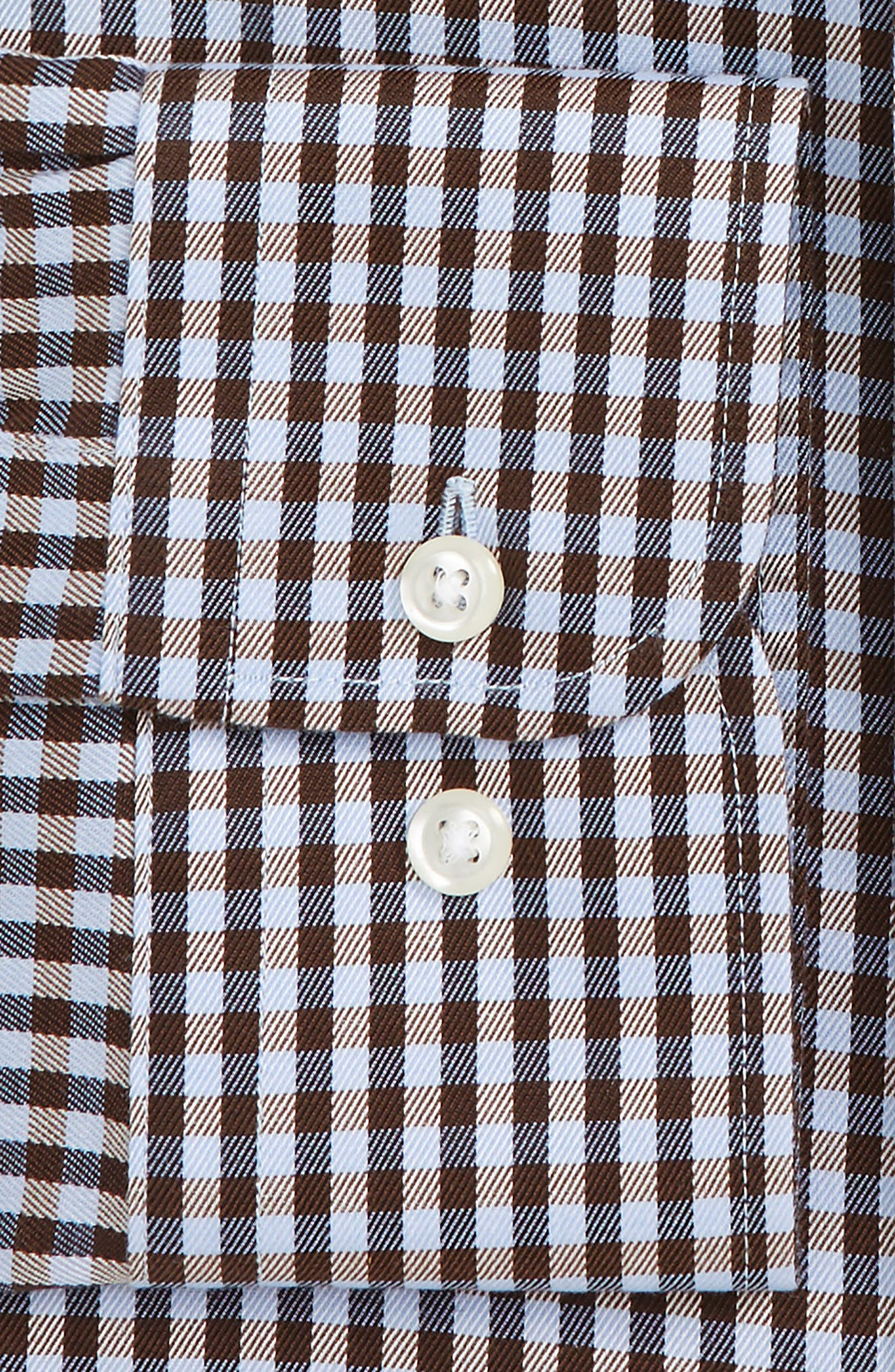 Smartcare<sup>™</sup> Traditional Fit Check Dress Shirt,                             Alternate thumbnail 4, color,                             201