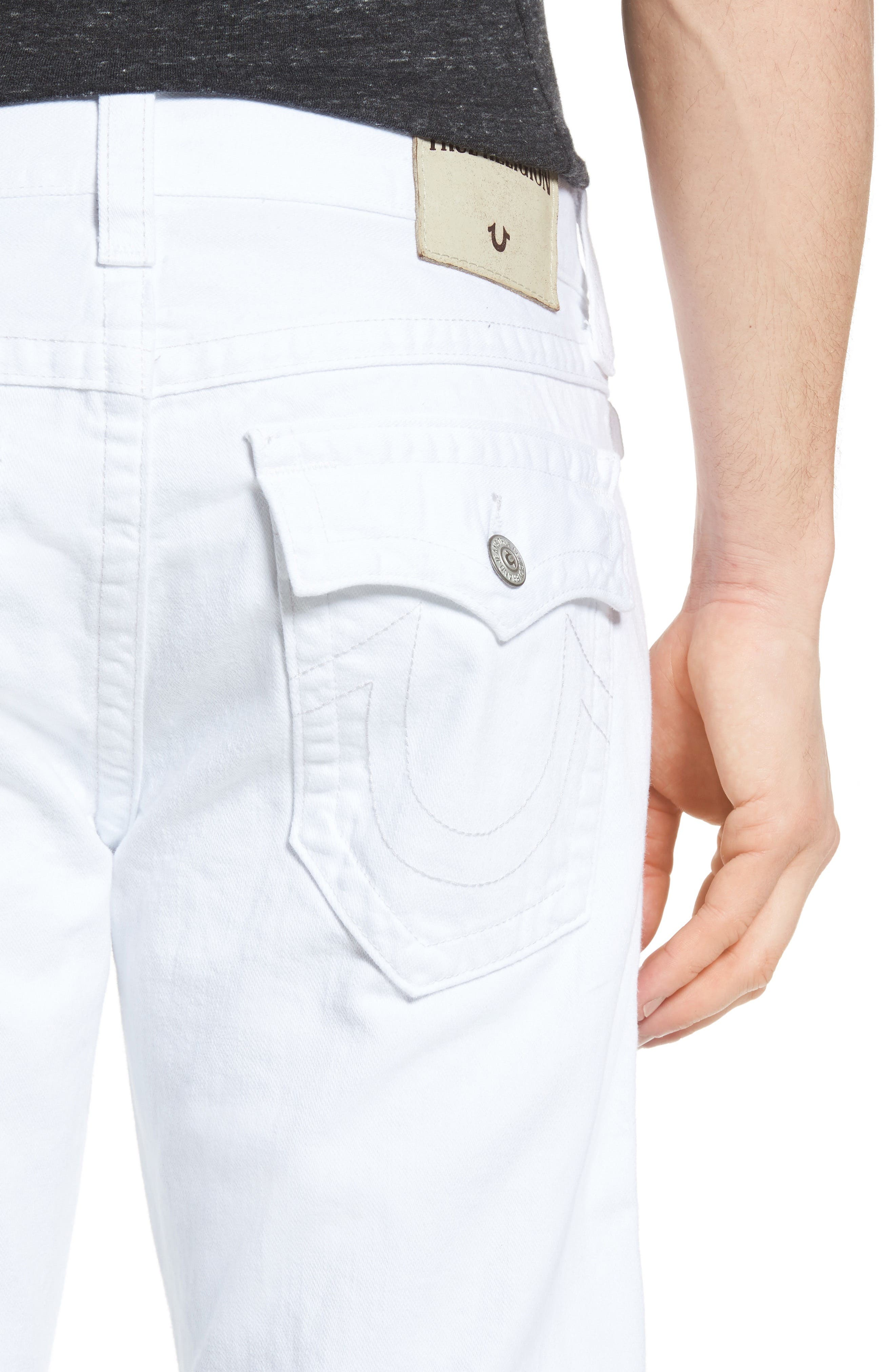Ricky Relaxed Fit Jeans,                             Alternate thumbnail 4, color,                             100
