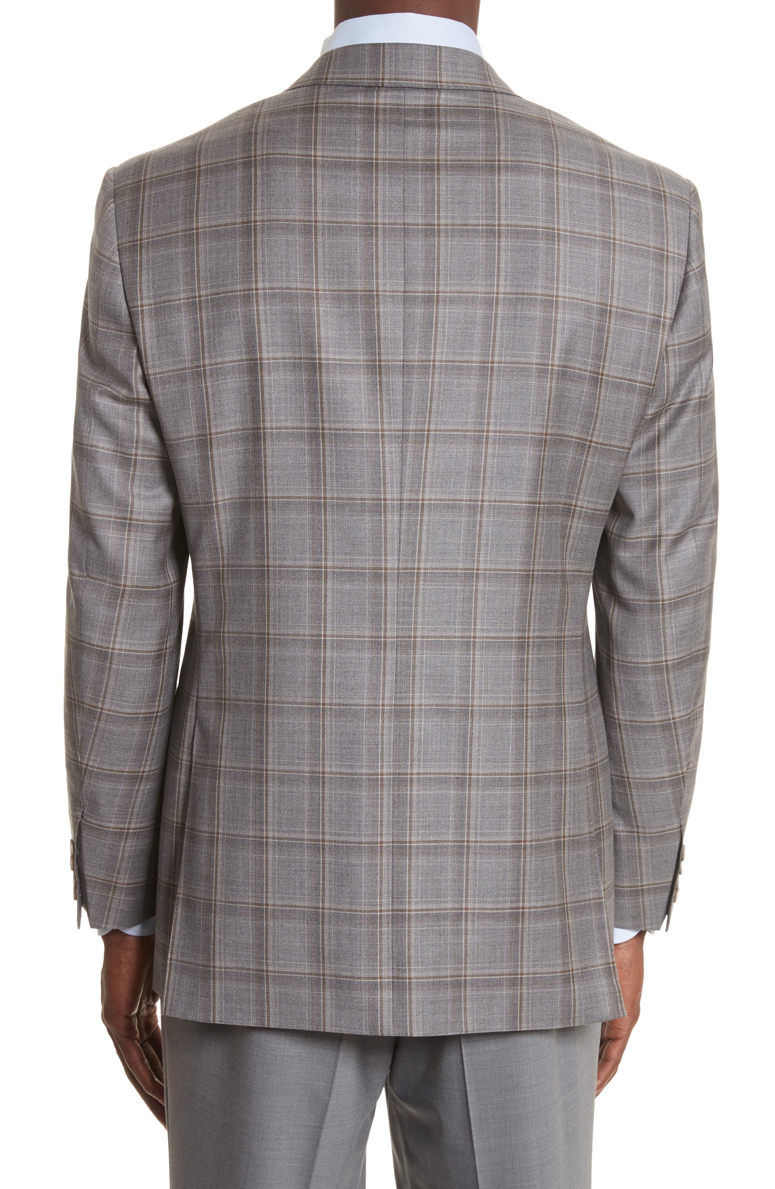 Classic Fit Plaid Wool Sport Coat,                             Alternate thumbnail 2, color,                             250