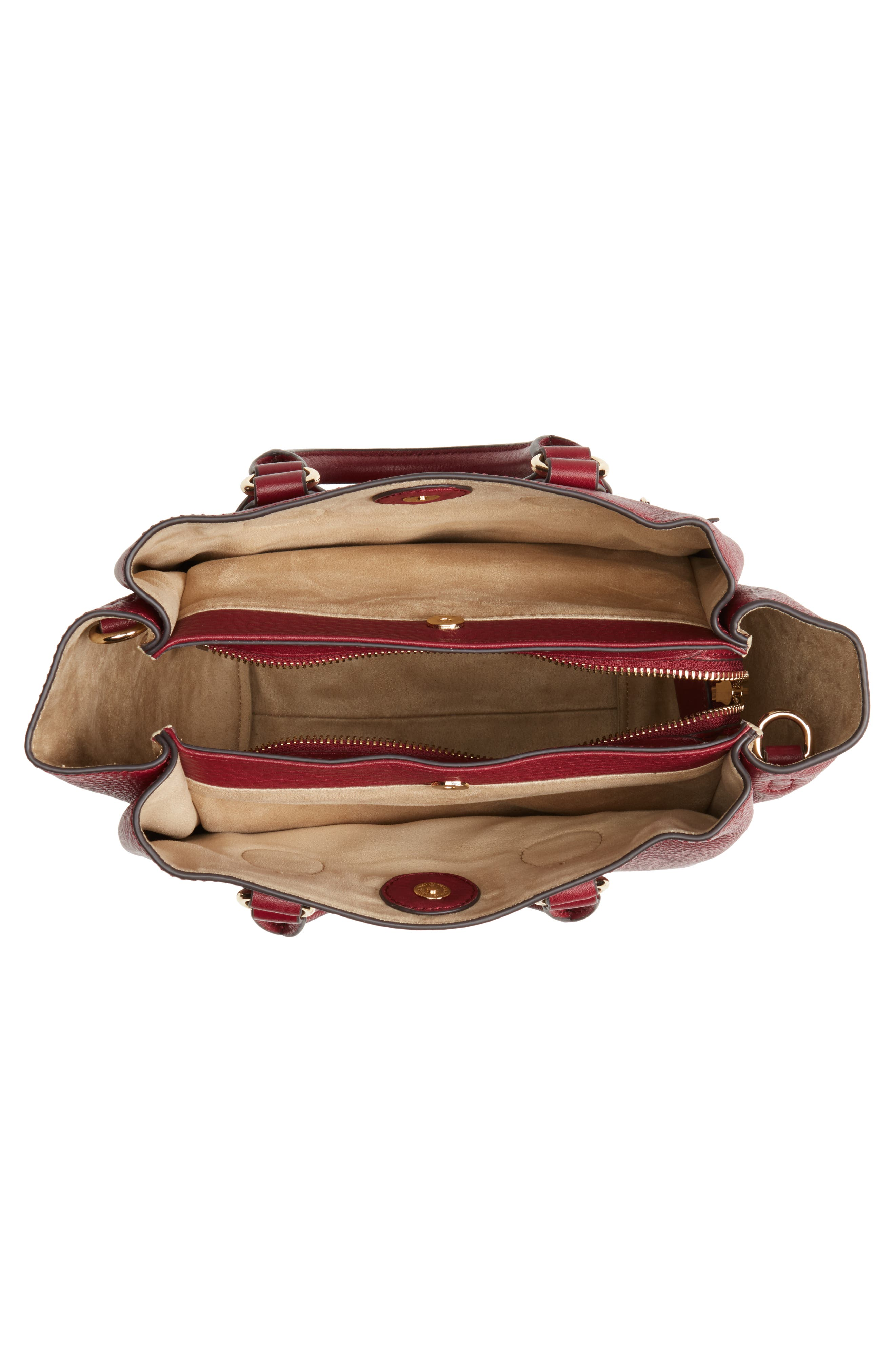 Céline Dion Small Adagio Leather Satchel,                             Alternate thumbnail 20, color,