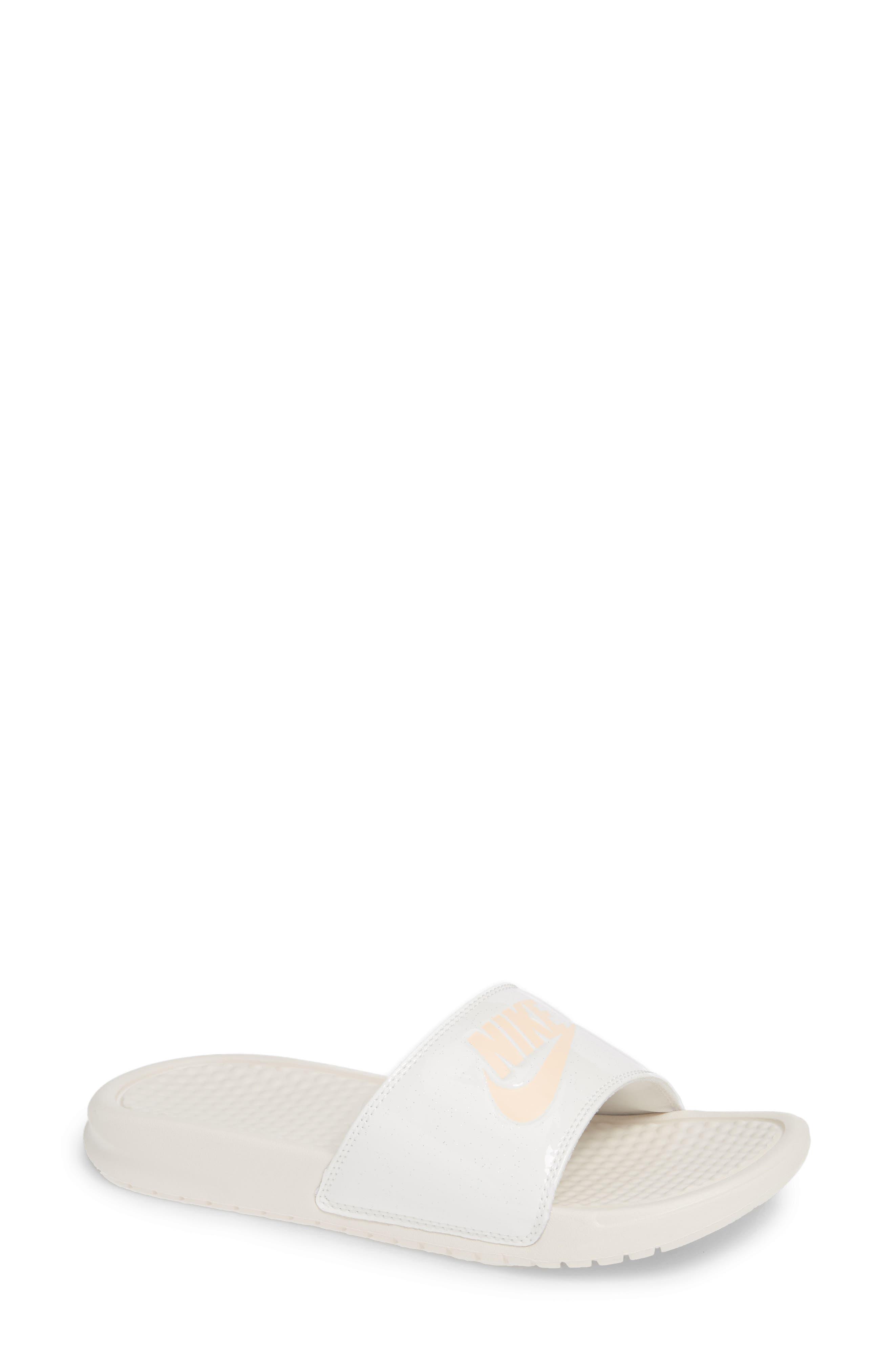 f8e23c8b0bb9 ... clearance nike womens benassi jdi print slide sandals white 0a842 bd0a9
