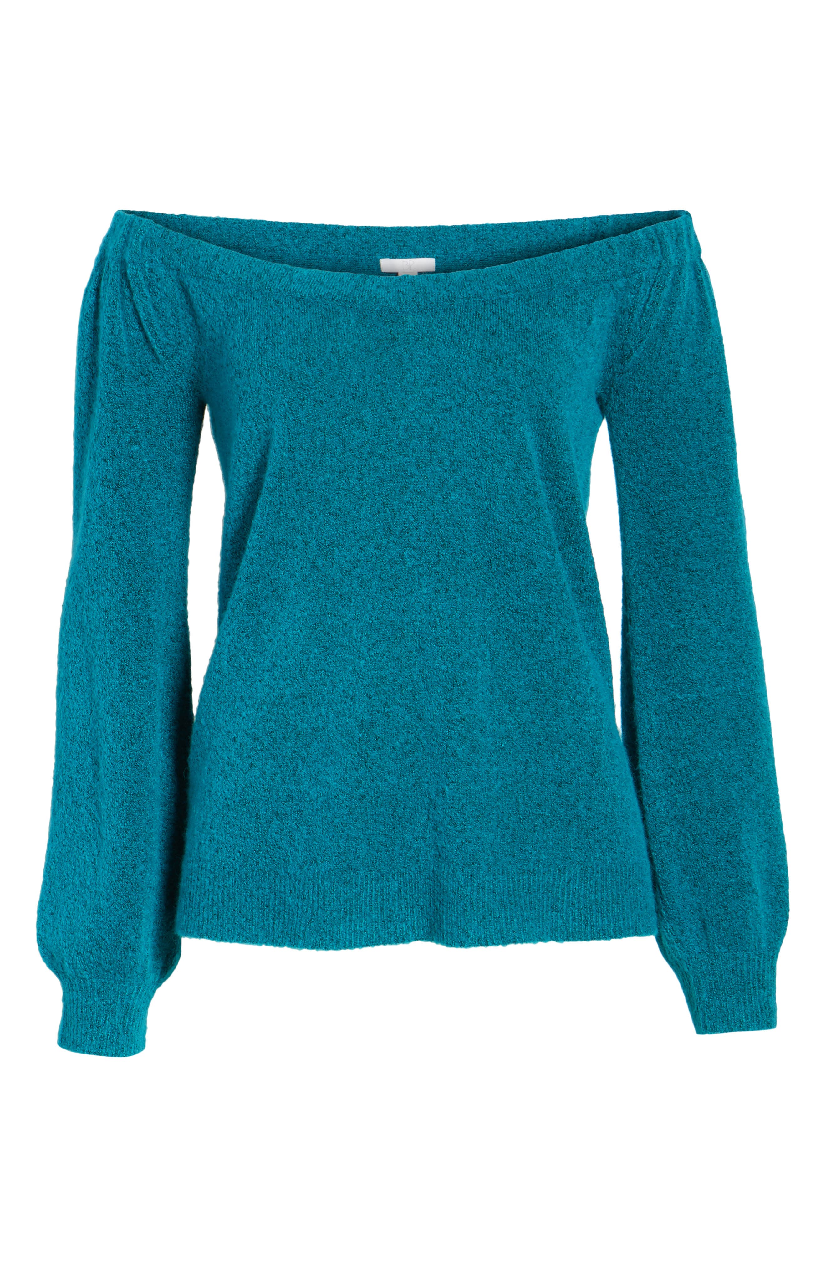 Off the Shoulder Sweater,                             Alternate thumbnail 12, color,