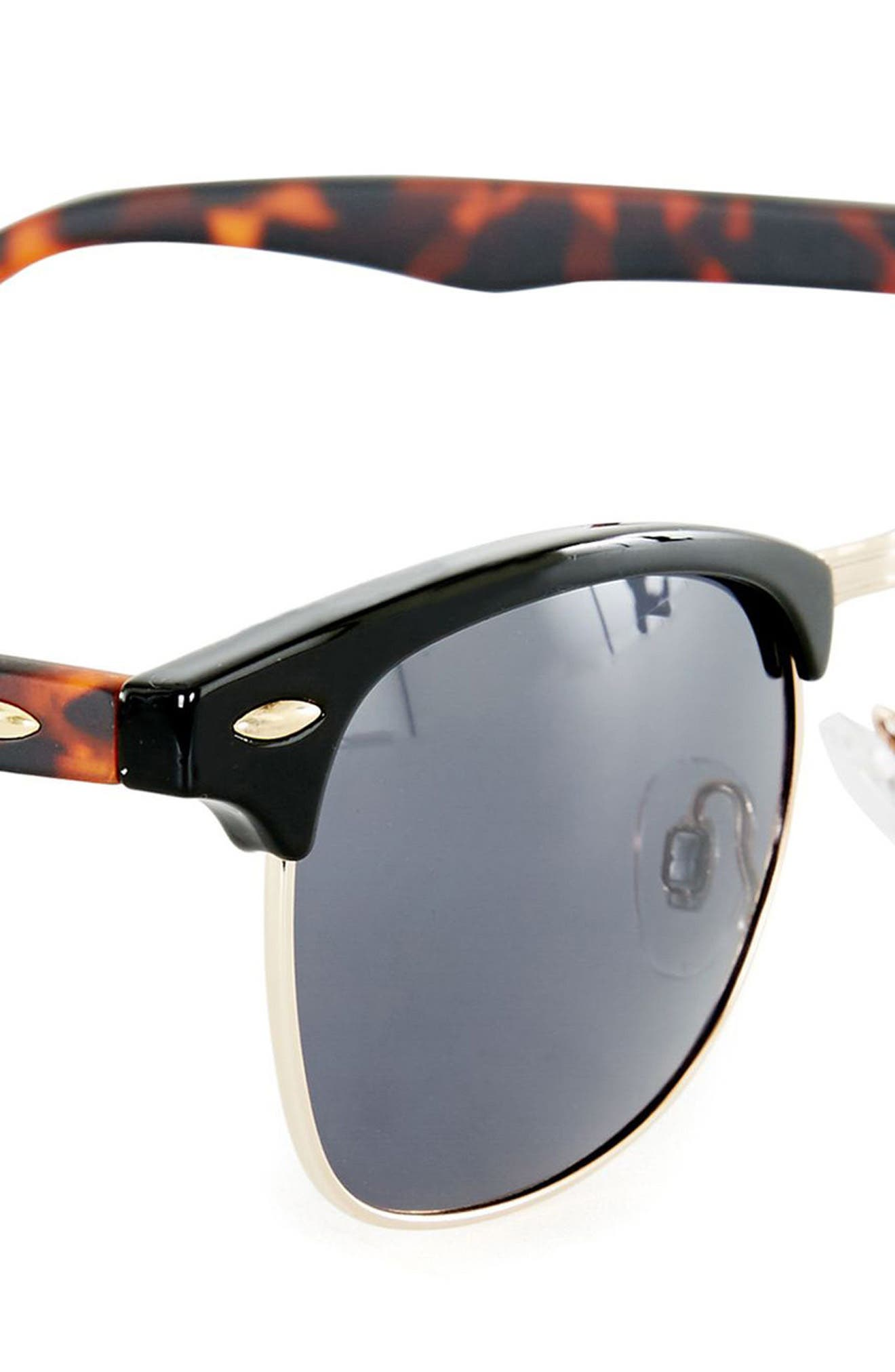 Clubmaster 50mm Sunglasses,                             Alternate thumbnail 3, color,                             200