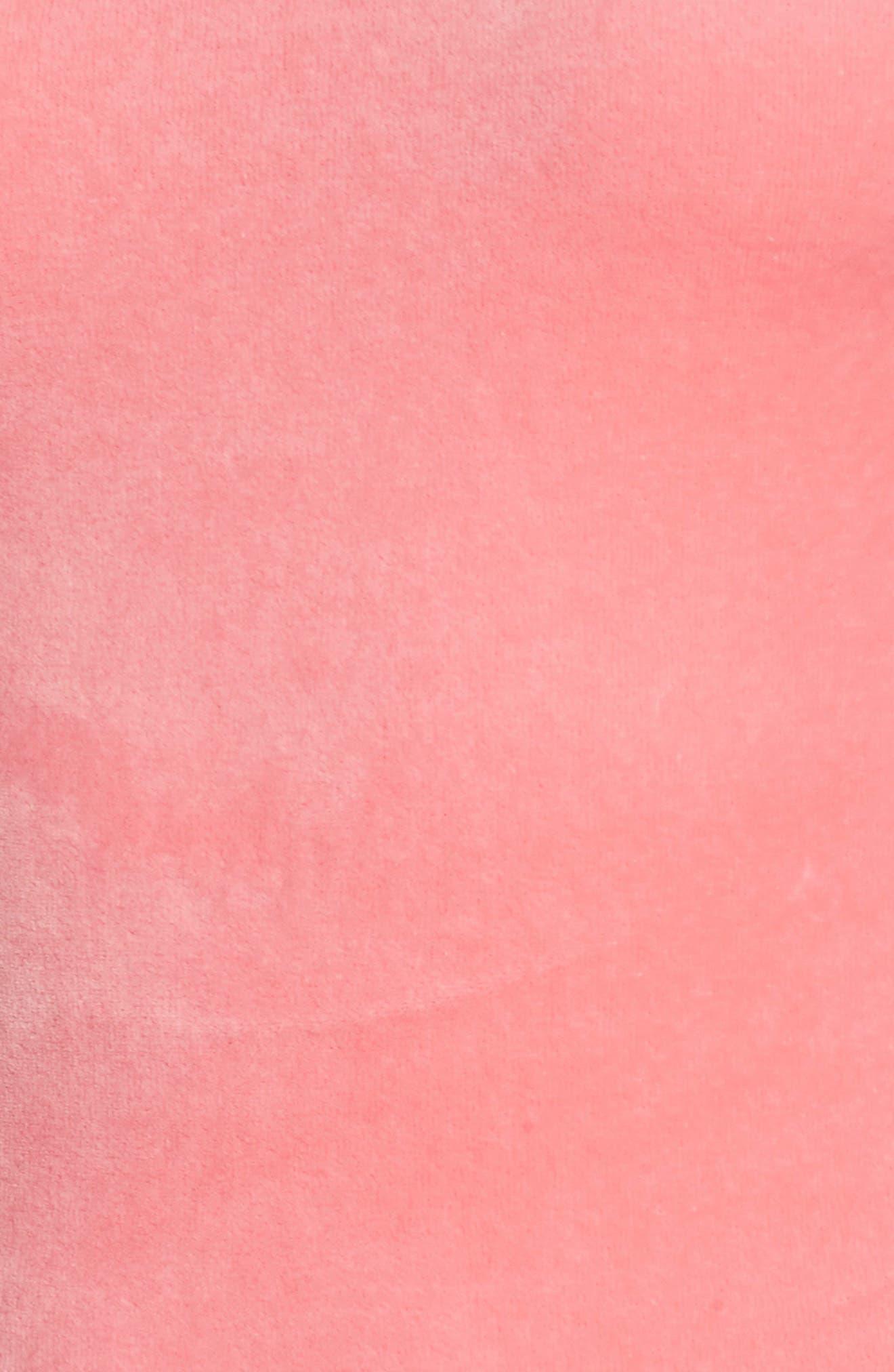 Stretch Velour Tank Midi Dress,                             Alternate thumbnail 7, color,                             666