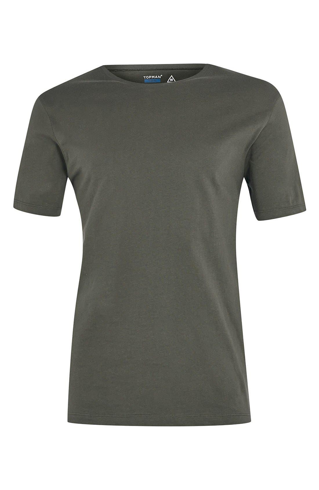 Slim Fit Crewneck T-Shirt,                             Alternate thumbnail 403, color,