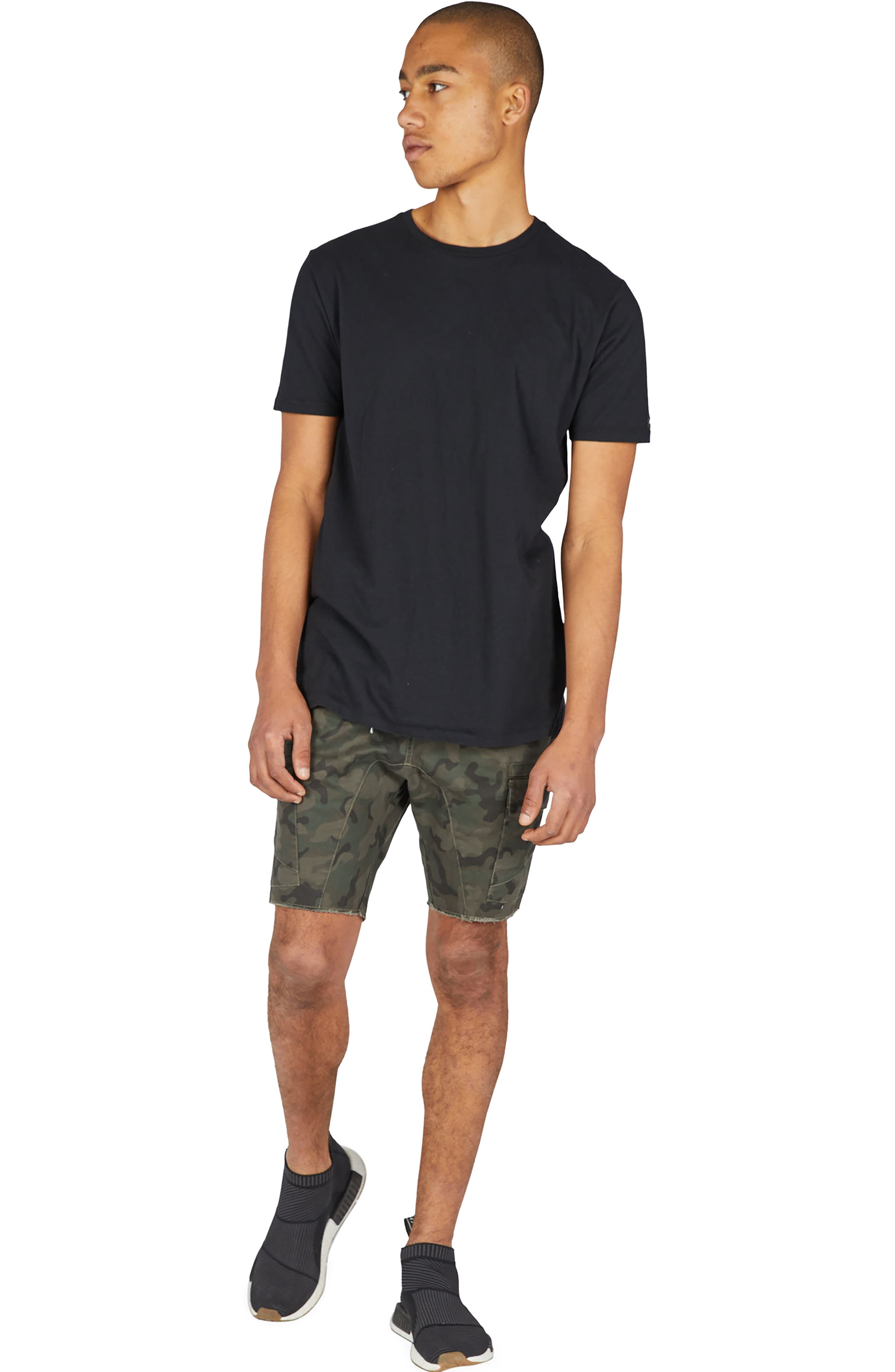 Sureshot Camo Cargo Shorts,                             Alternate thumbnail 5, color,                             302