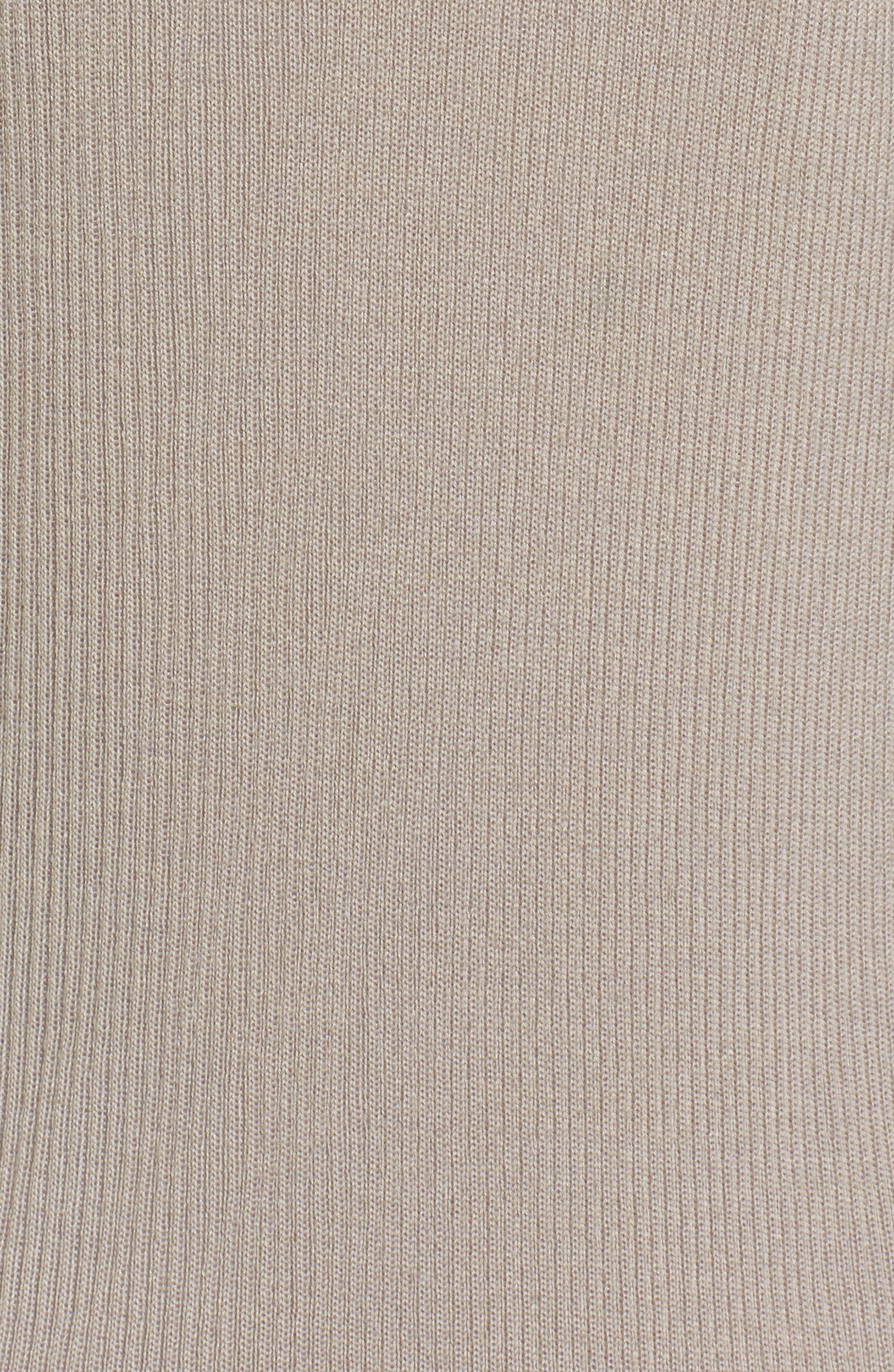 Rib Knit Wool Blend Cardigan,                             Alternate thumbnail 86, color,