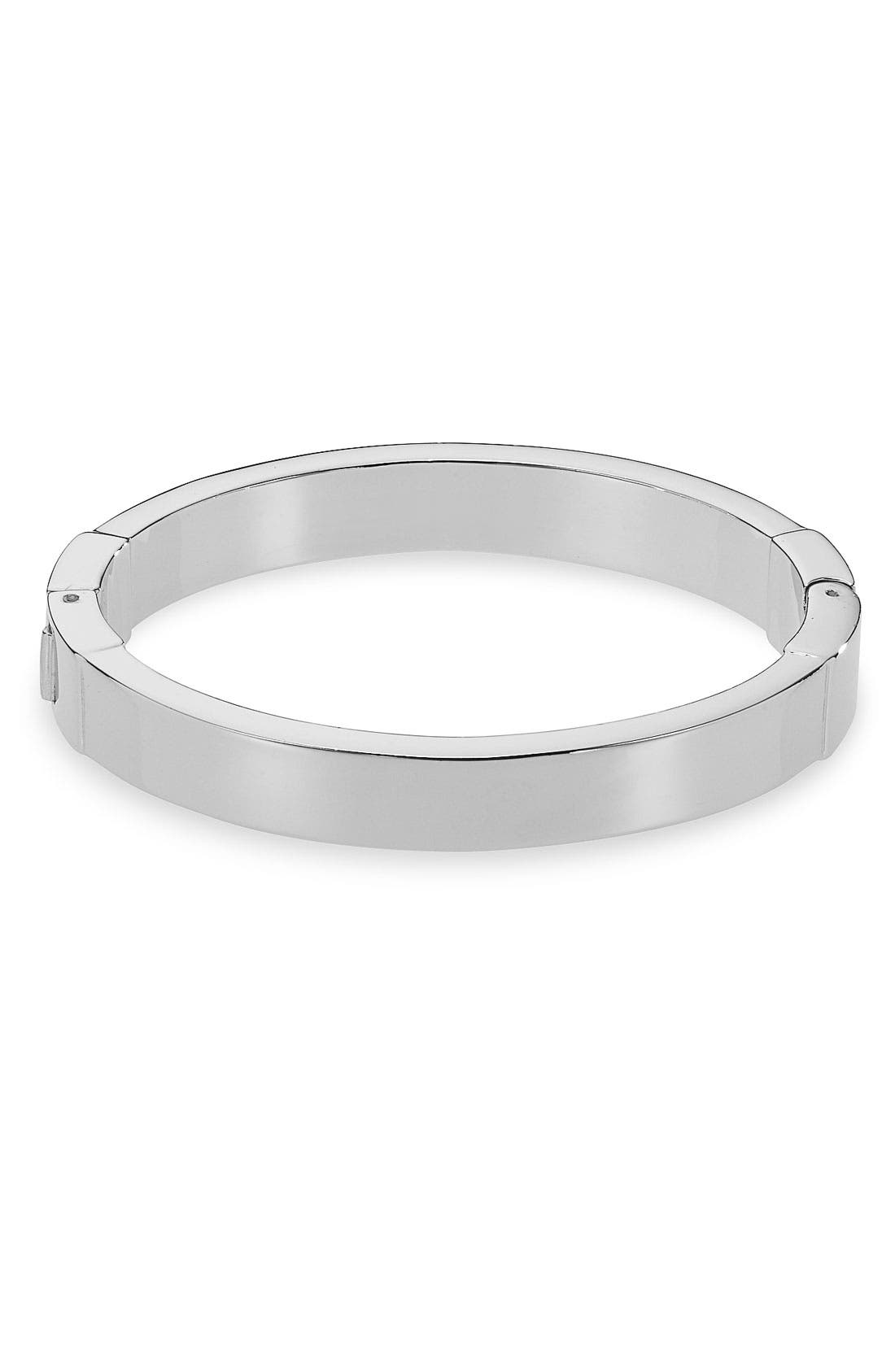 Michael Kors Hinged Bangle,                             Main thumbnail 1, color,                             040
