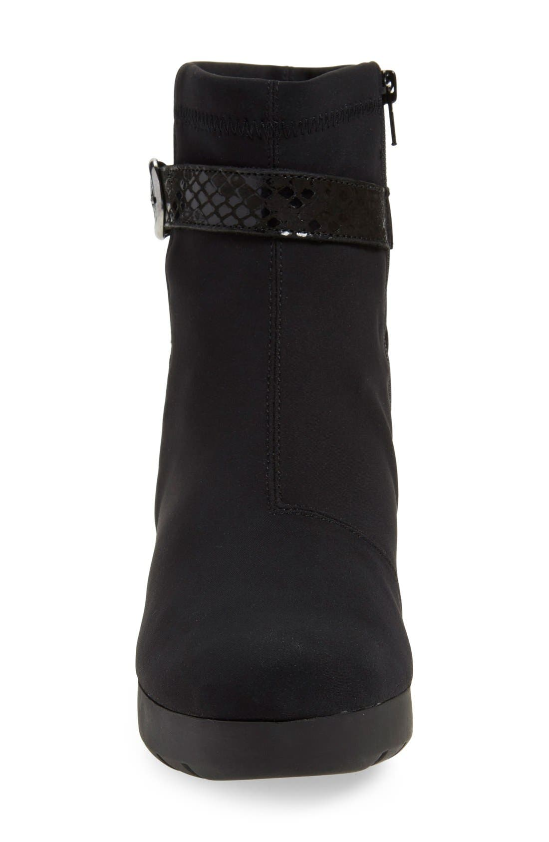 'Tyba' Waterproof Wedge Bootie,                             Alternate thumbnail 3, color,