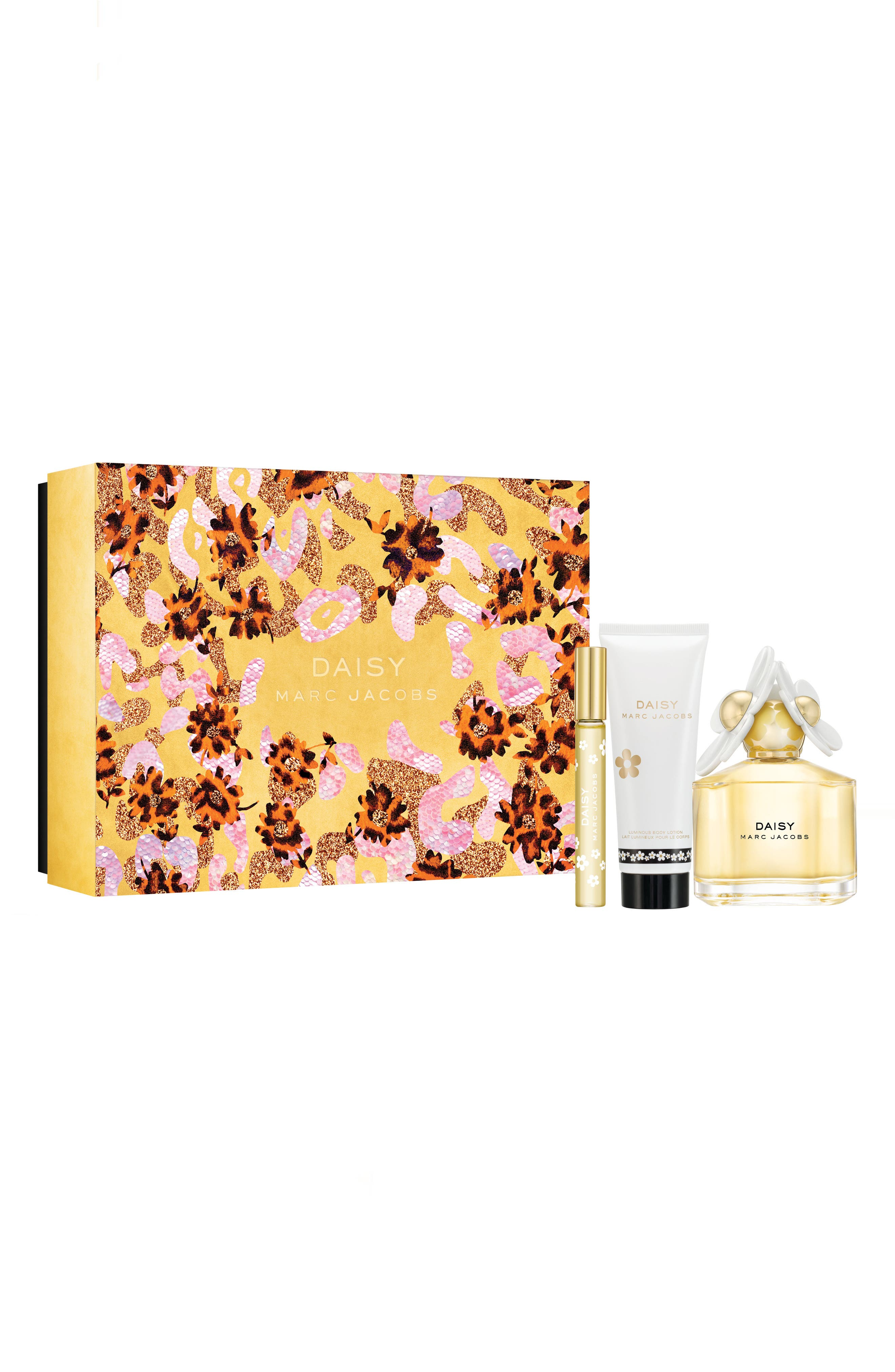 MARC JACOBS Daisy Three-Piece Set, Main, color, 000