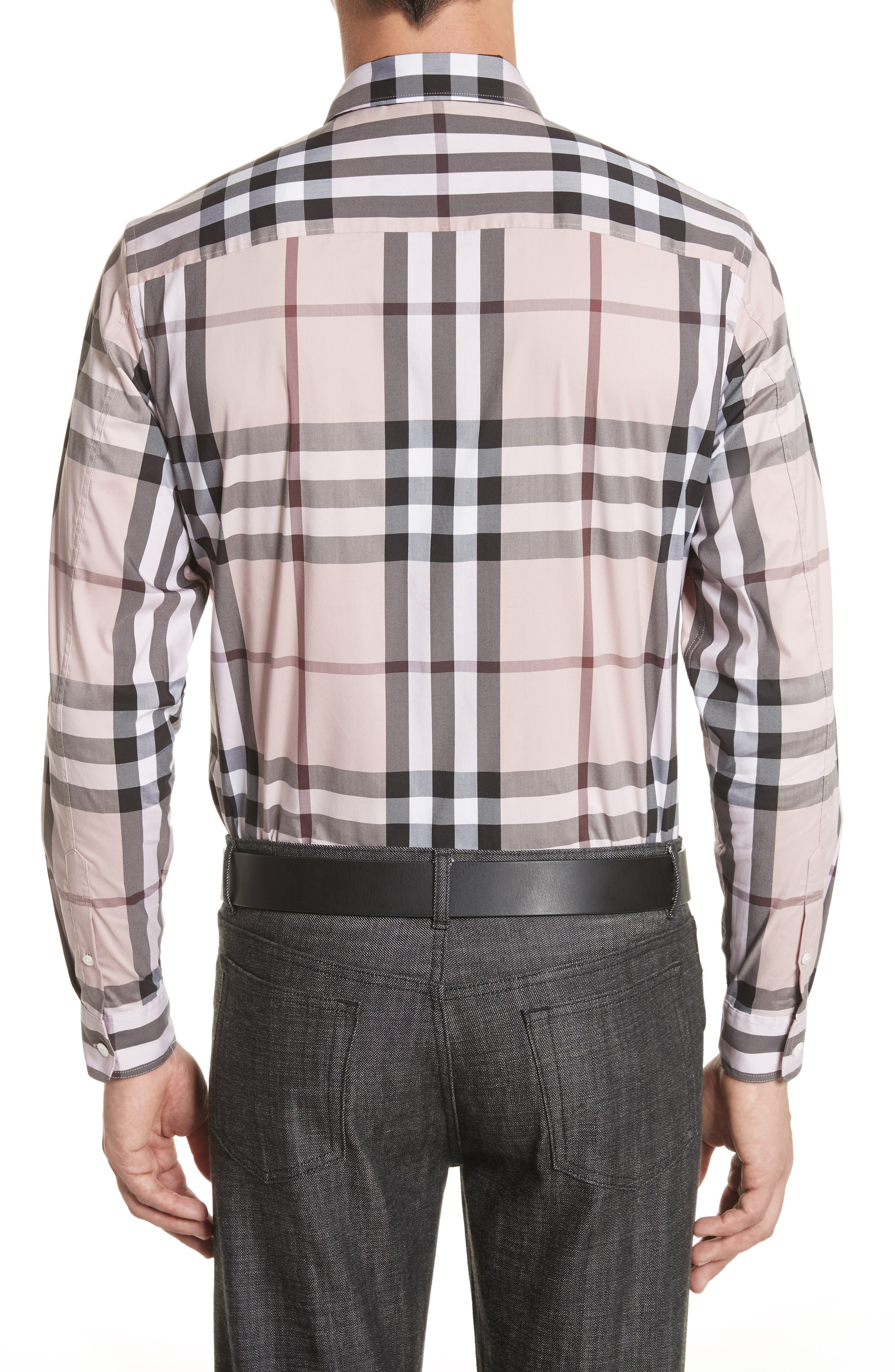 Nelson Check Sport Shirt,                             Alternate thumbnail 52, color,