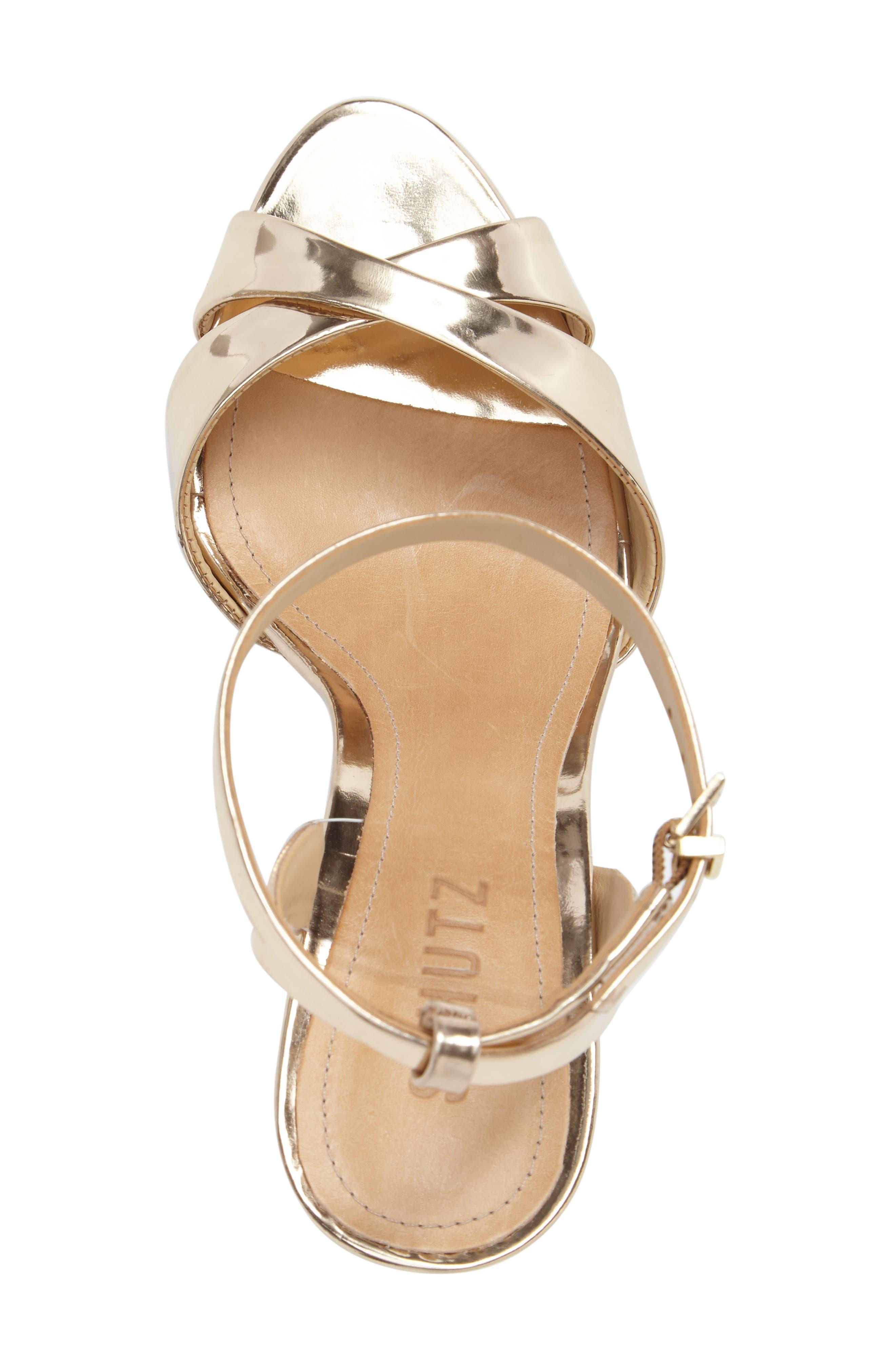Olyvia Cross Toe Sandal,                             Alternate thumbnail 5, color,                             040