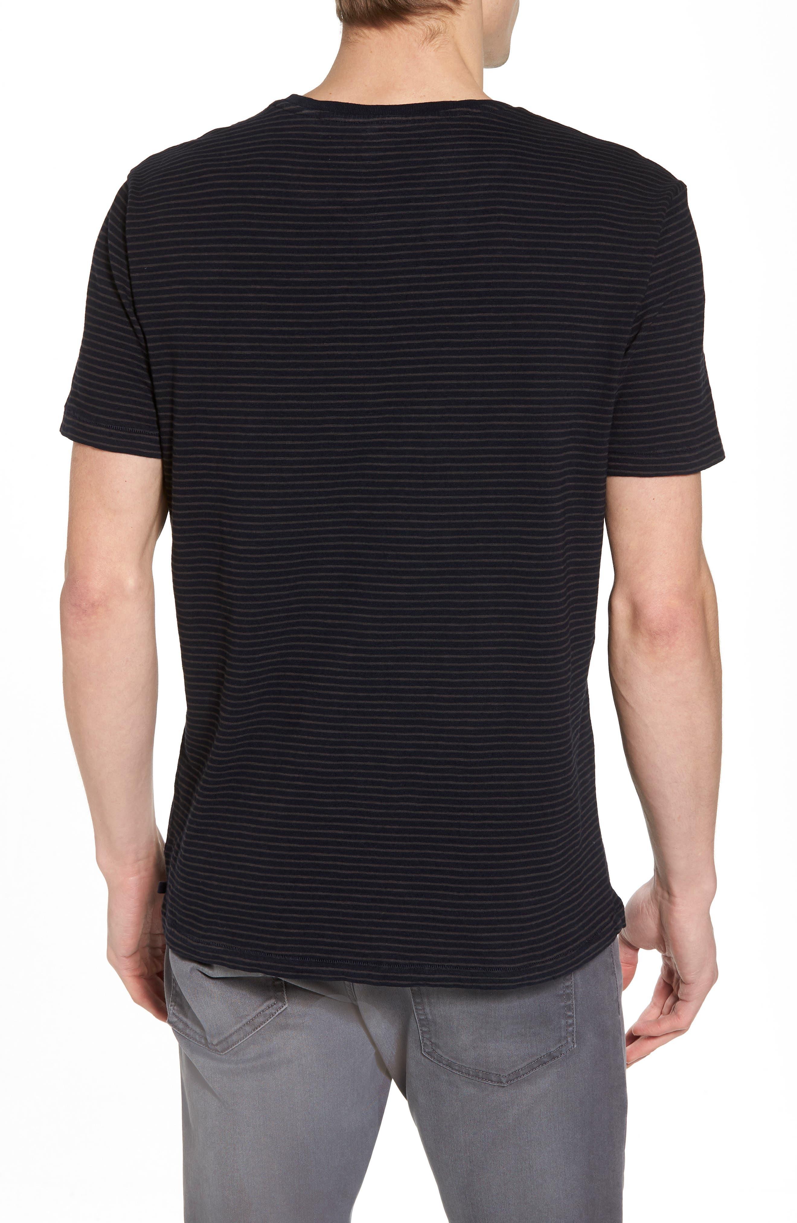 Julian Slim Fit Crewneck Shirt,                             Alternate thumbnail 5, color,