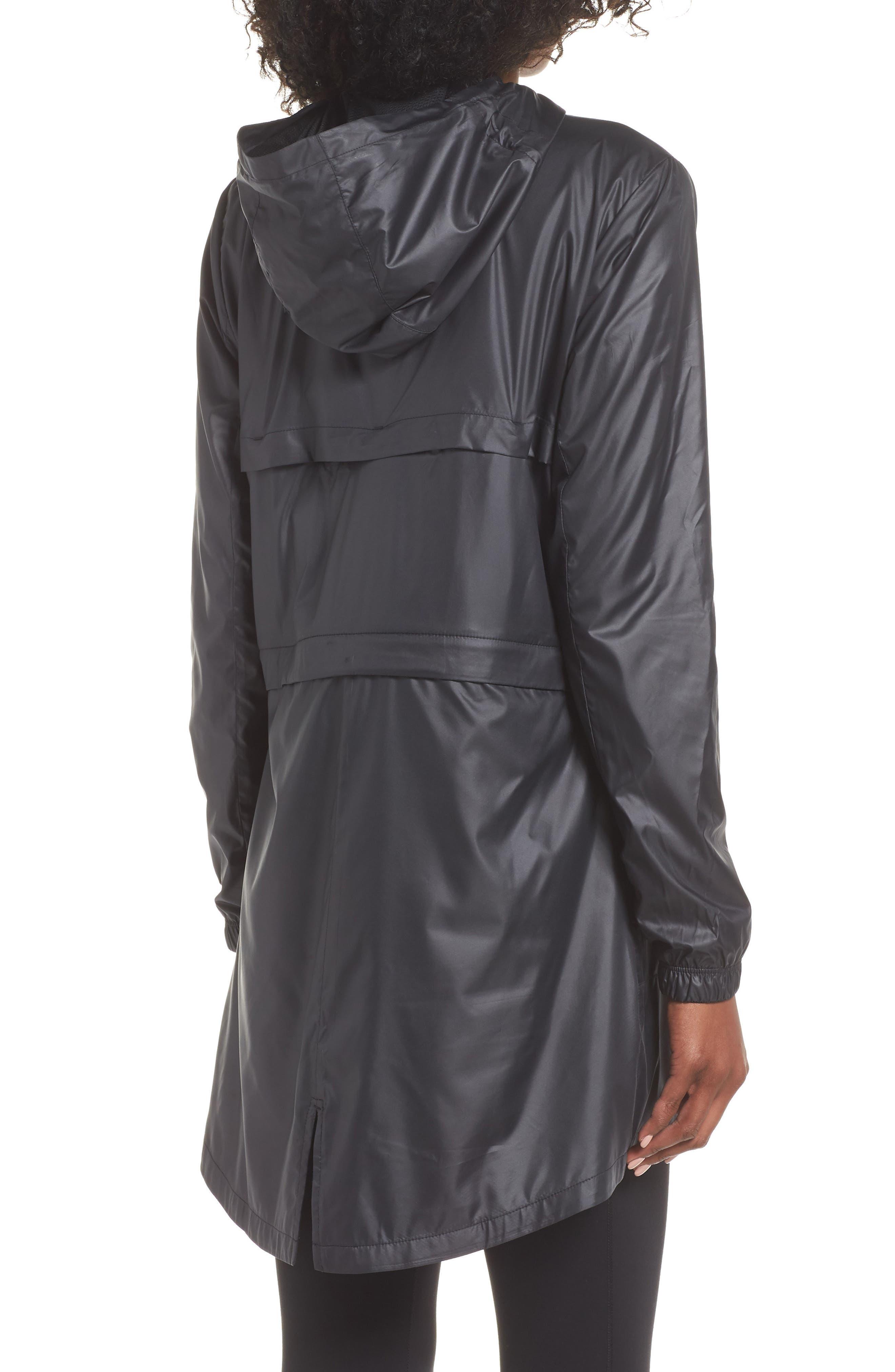 Women's Convertible Hooded Running Jacket,                             Alternate thumbnail 3, color,                             010