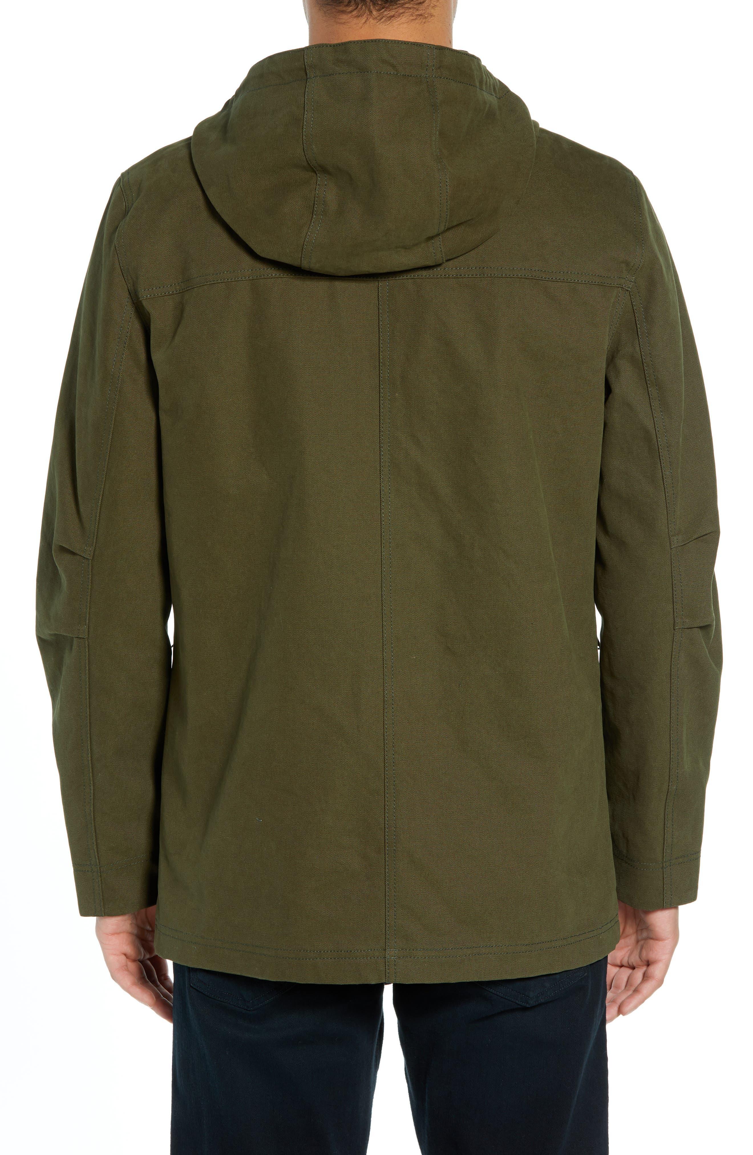 Dry Goods Cascade Raincoat,                             Alternate thumbnail 2, color,                             OLIVE