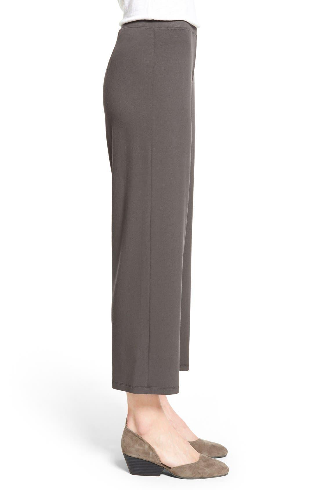 Crop Jersey Pants,                             Alternate thumbnail 9, color,