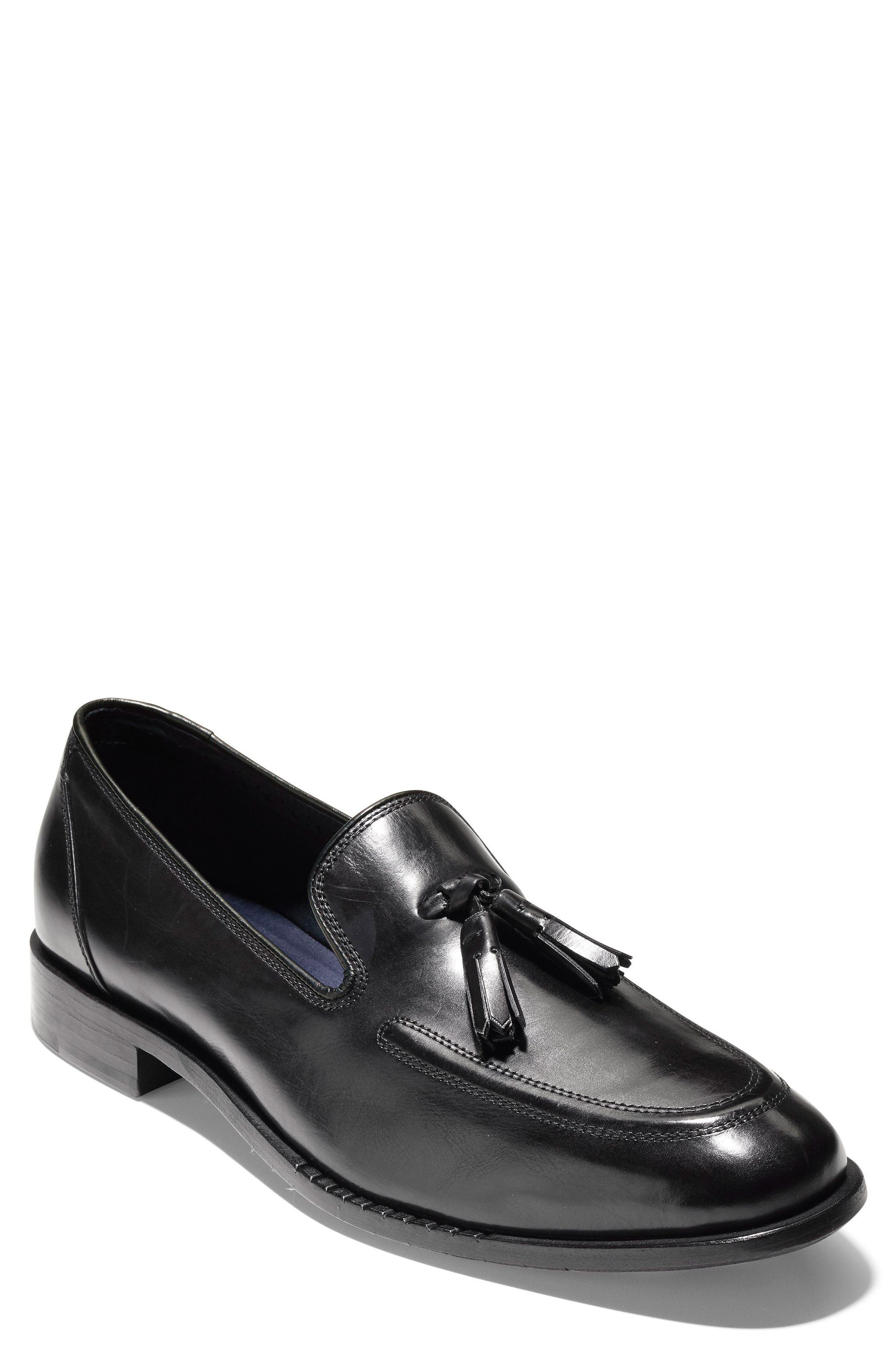 COLE HAAN,                             Washington Grand Tassel Loafer,                             Main thumbnail 1, color,                             001