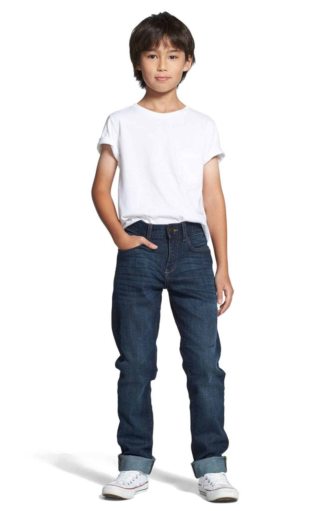 'Brady' Slim Fit Jeans,                             Alternate thumbnail 5, color,                             FERRET