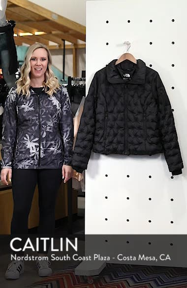 Holladown Water Repellent 550-Fill Power Down Crop Jacket, sales video thumbnail