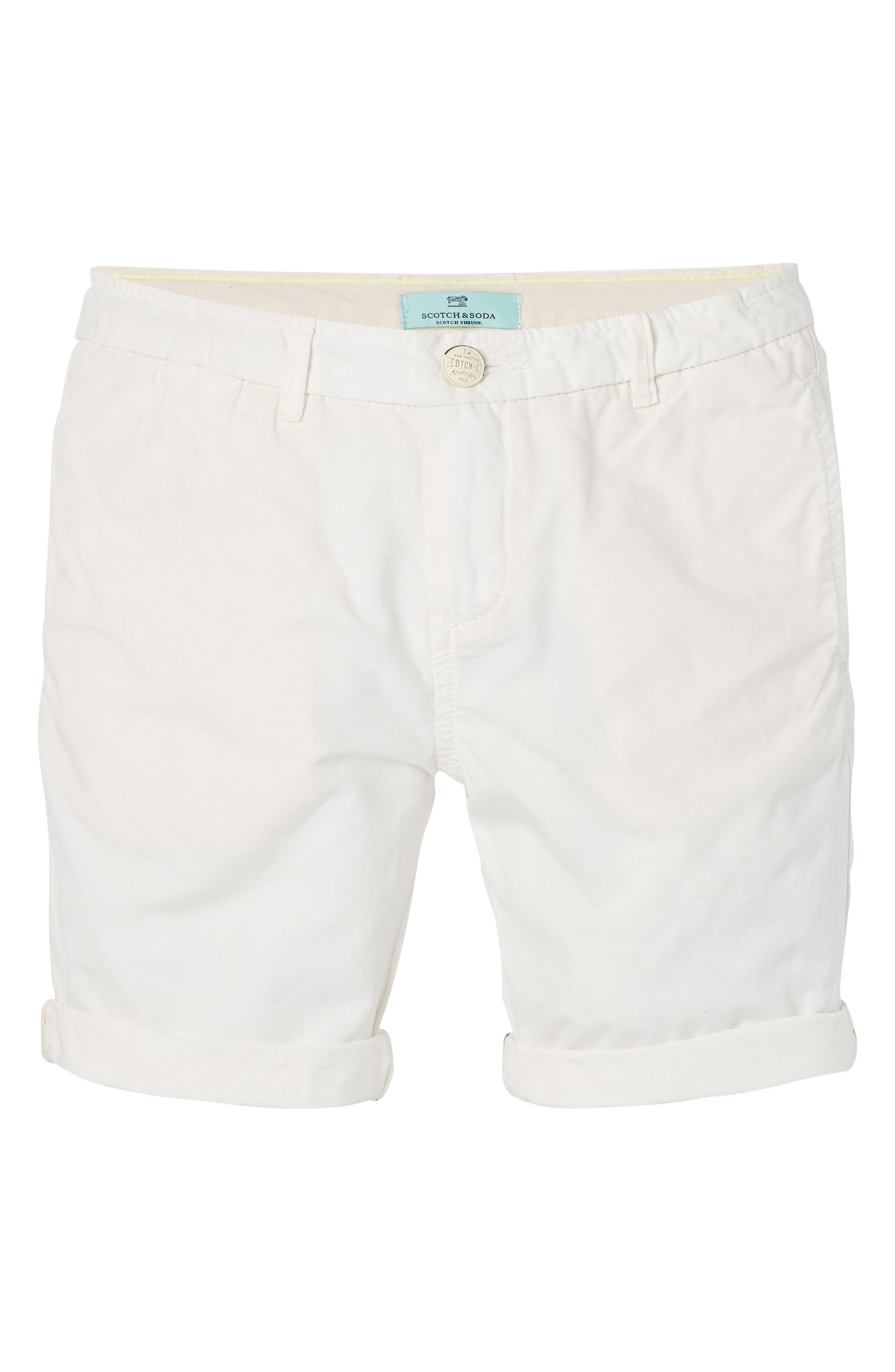 Poplin Shorts,                             Main thumbnail 1, color,                             100