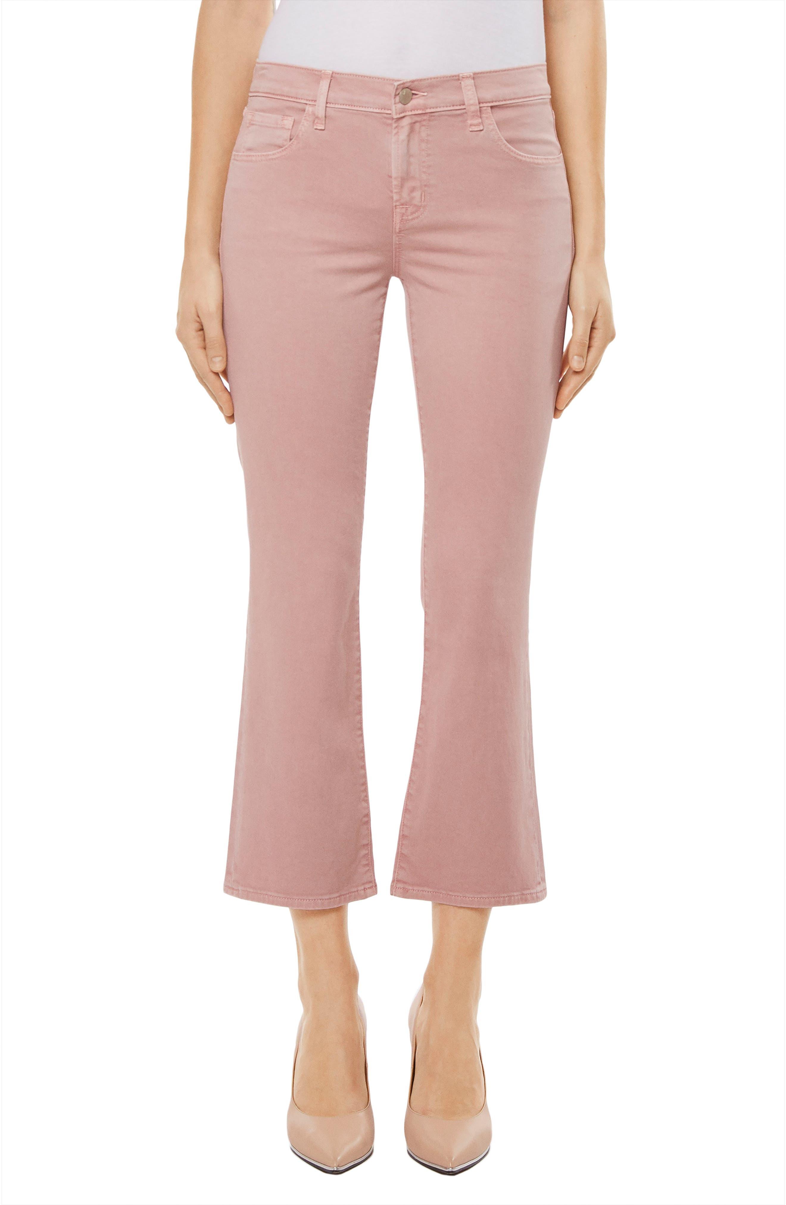 Selena Crop Bootcut Jeans,                         Main,                         color, 660