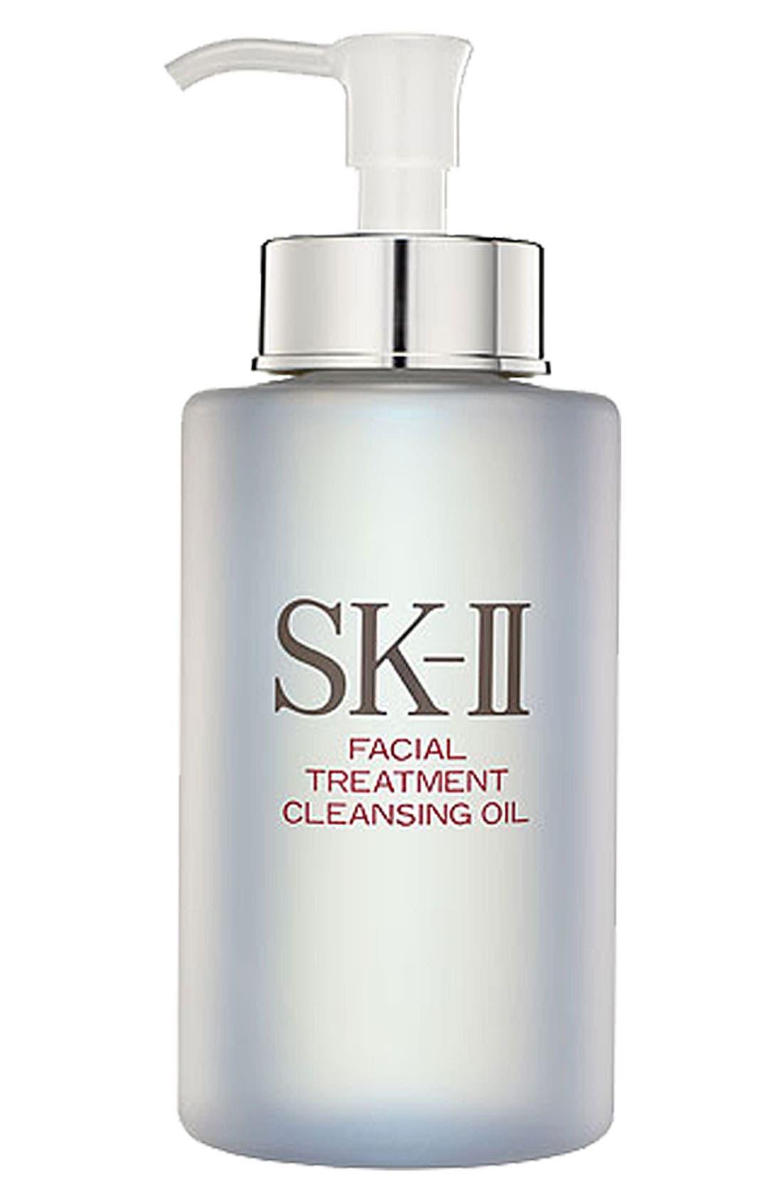 Facial Treatment Cleansing Oil,                             Main thumbnail 1, color,                             NO COLOR