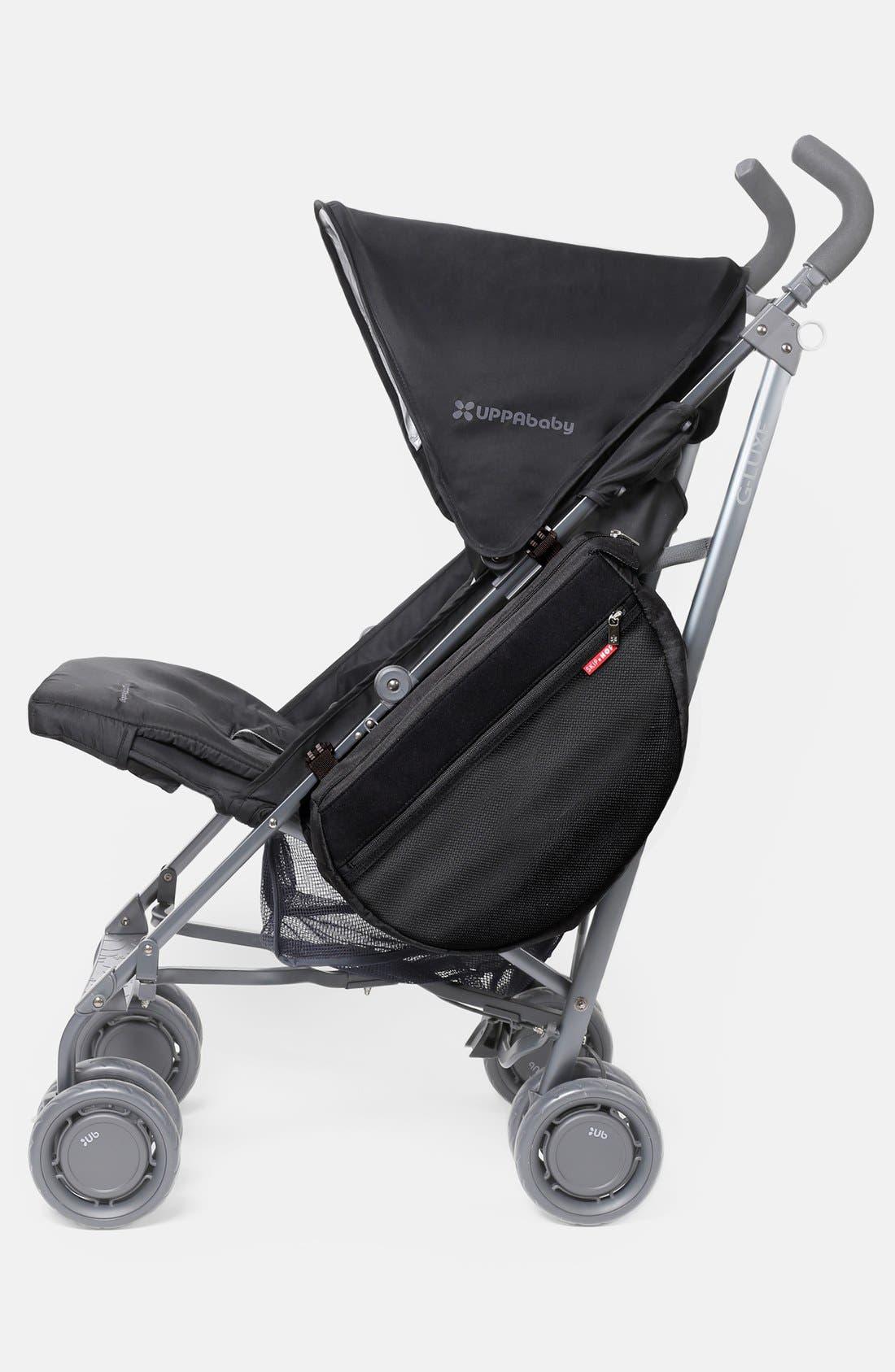 Stroller Saddle Bag,                         Main,                         color, BLACK