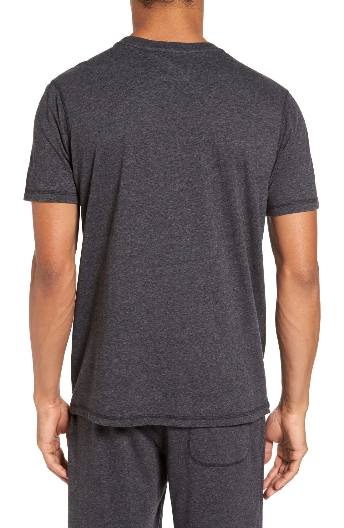 Recycled Cotton Blend T-Shirt,                             Alternate thumbnail 2, color,                             001
