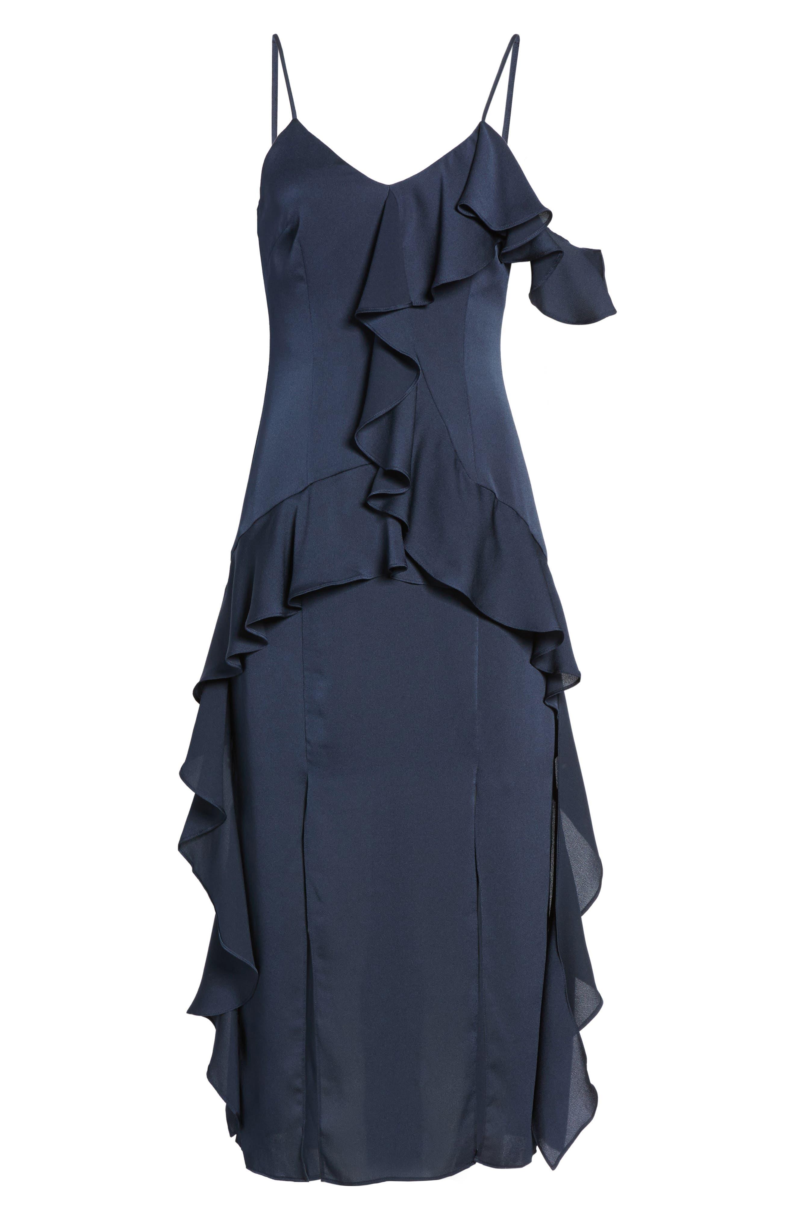 Love Bound Midi Dress,                             Alternate thumbnail 6, color,                             410