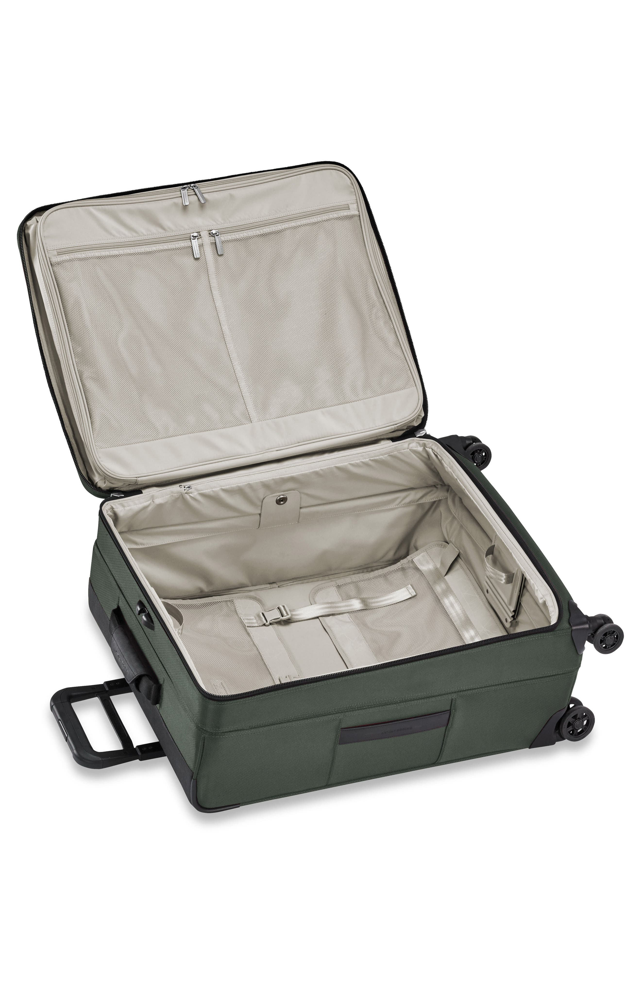 BRIGGS & RILEY,                             Transcend VX Medium Expandable 26-Inch Spinner Suitcase,                             Alternate thumbnail 2, color,                             RAINFOREST GREEN