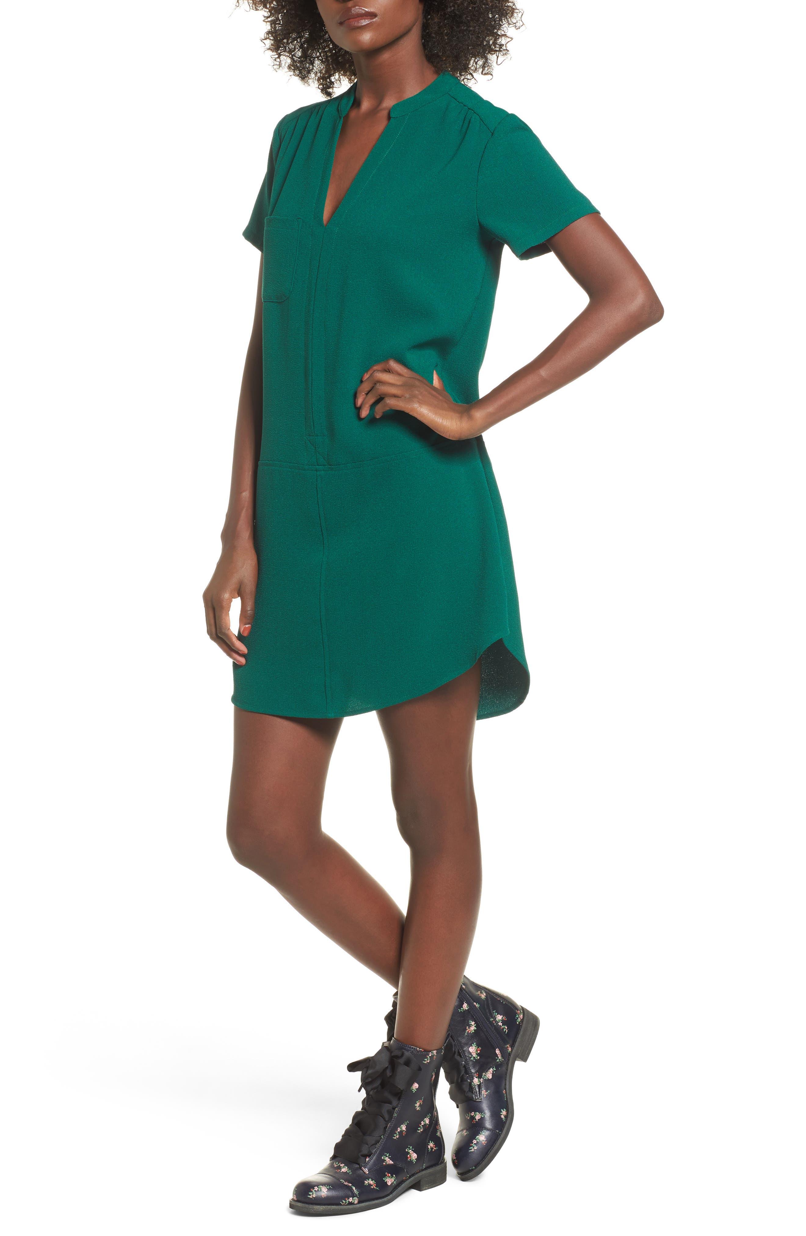 Hailey Crepe Dress,                             Alternate thumbnail 122, color,