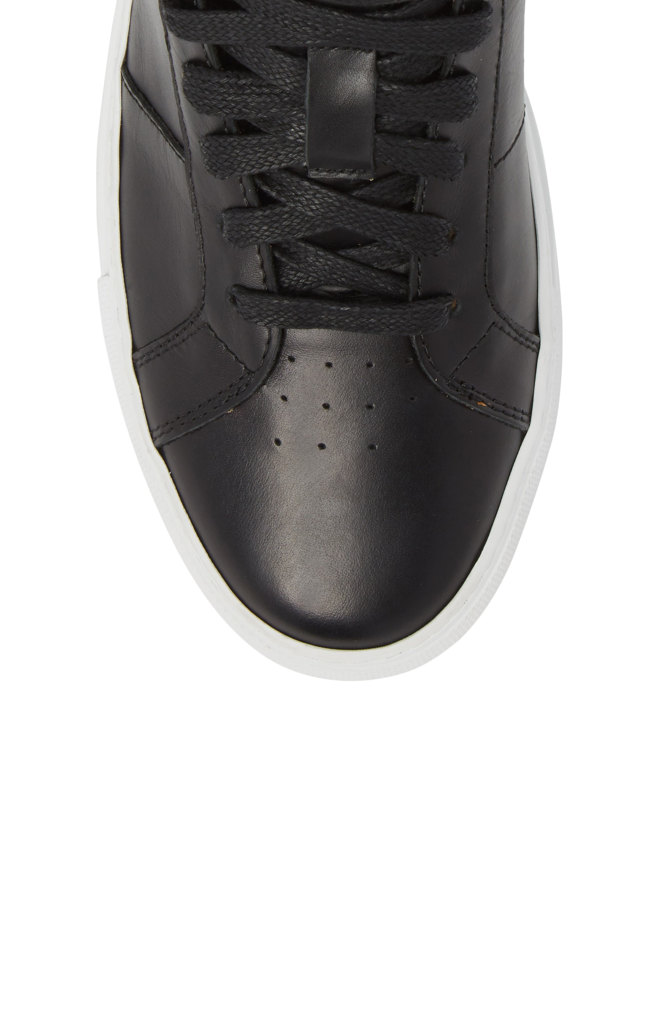 Royale High Top Sneaker,                             Alternate thumbnail 5, color,                             001