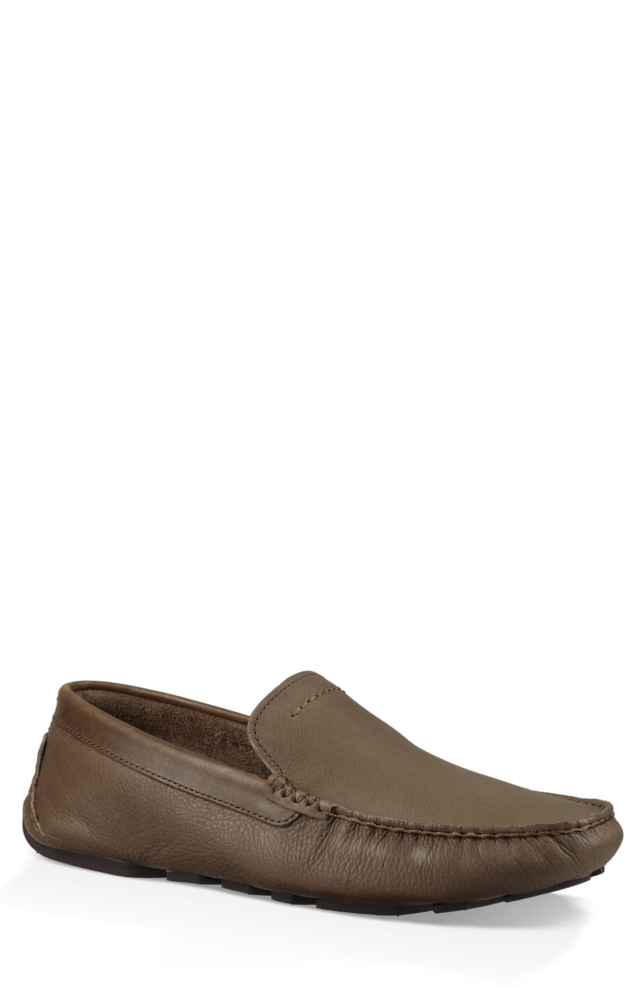 'Henrick' Driving Shoe,                         Main,                         color, TAUPE