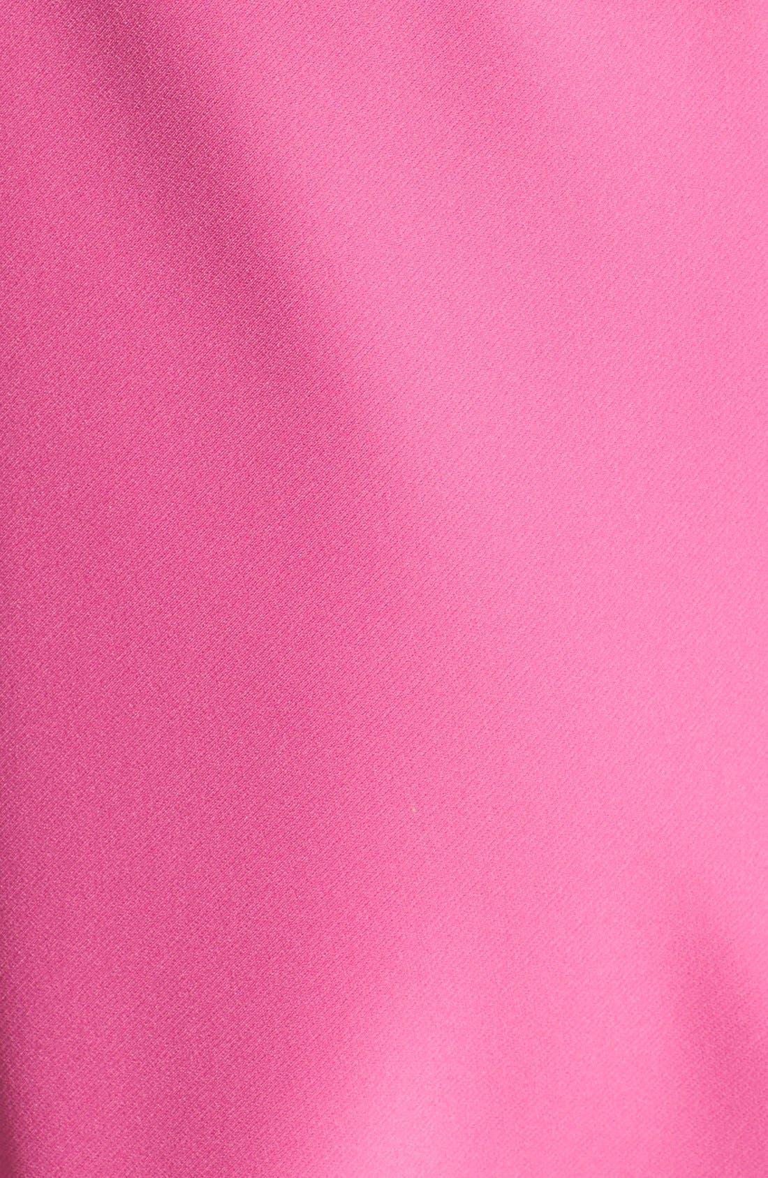 Bianca Back Cutout Fit & Flare Dress,                             Alternate thumbnail 43, color,